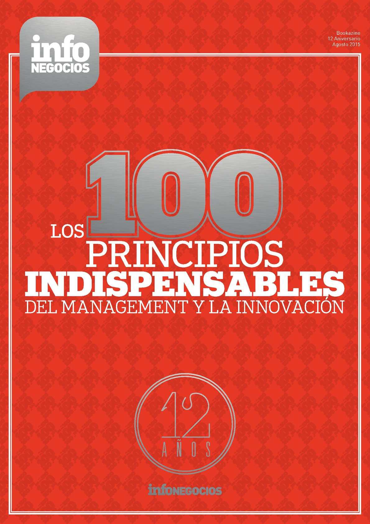 Los 100 Principios Indispensables del Management y la Innovación