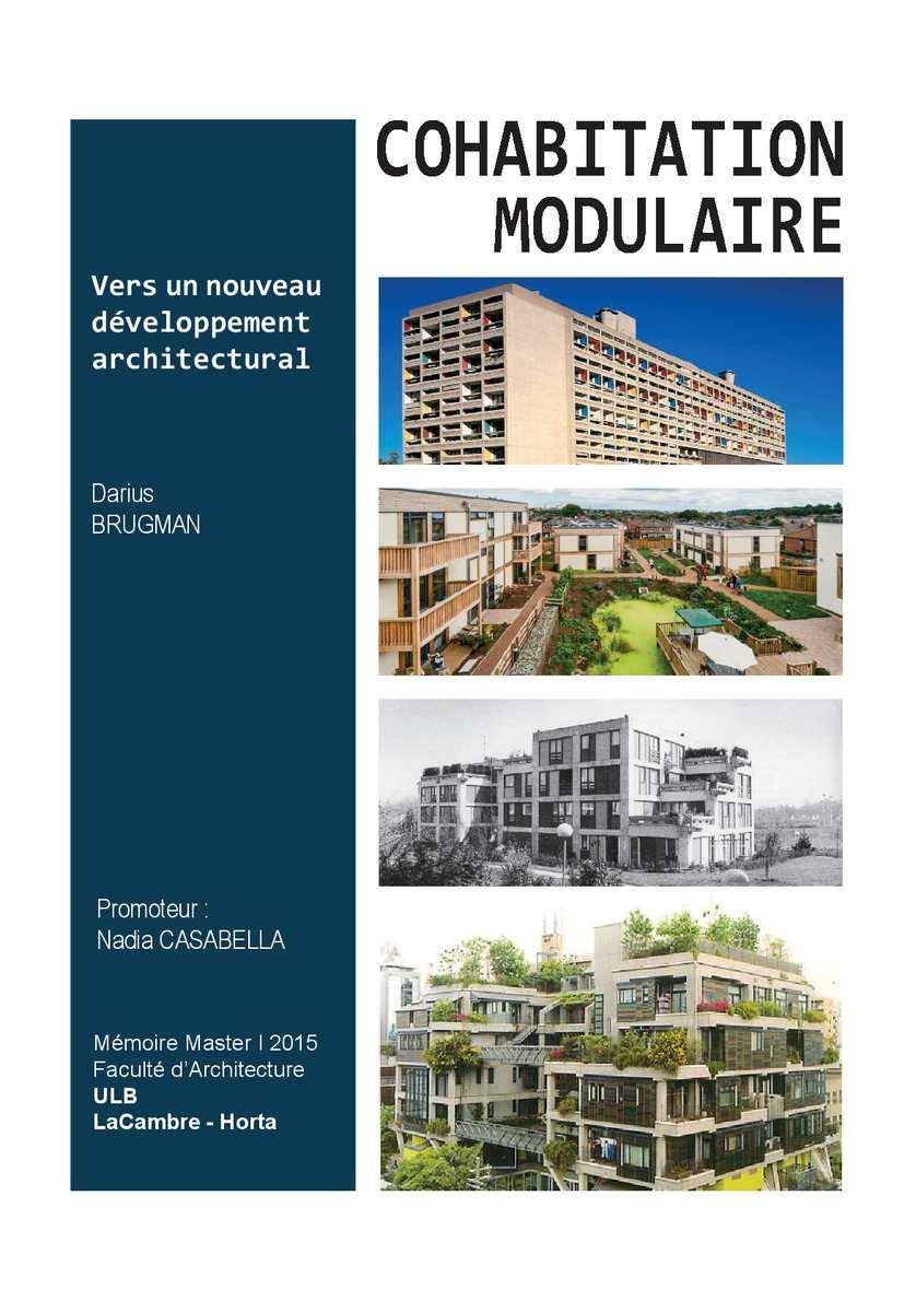 Calam o architecture m moire darius brugman for Architecture modulaire definition