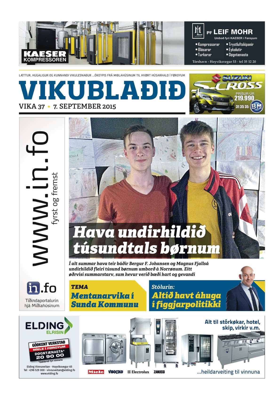 Vikublaðið 7. sep. 2015