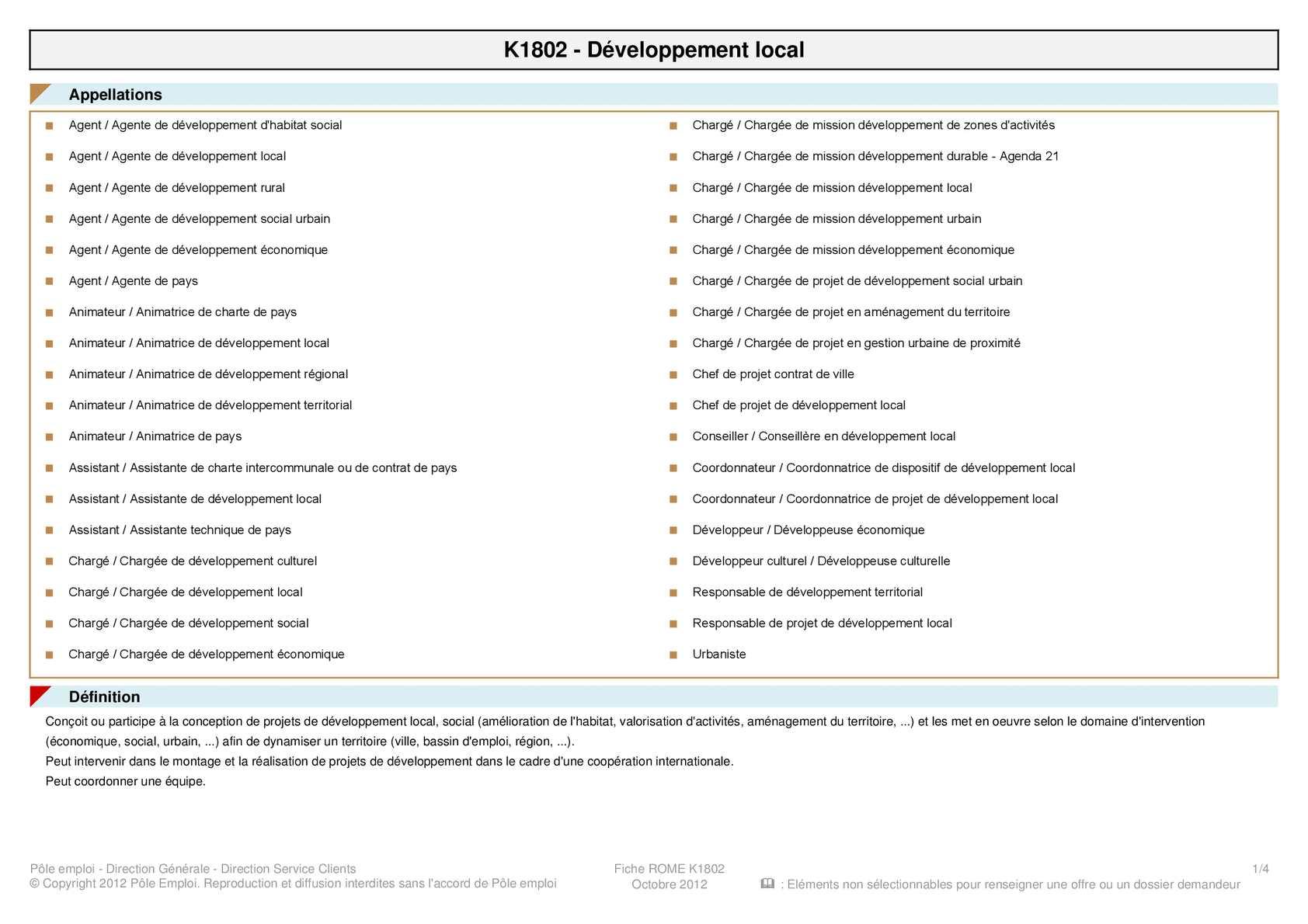 fiche metier k1206