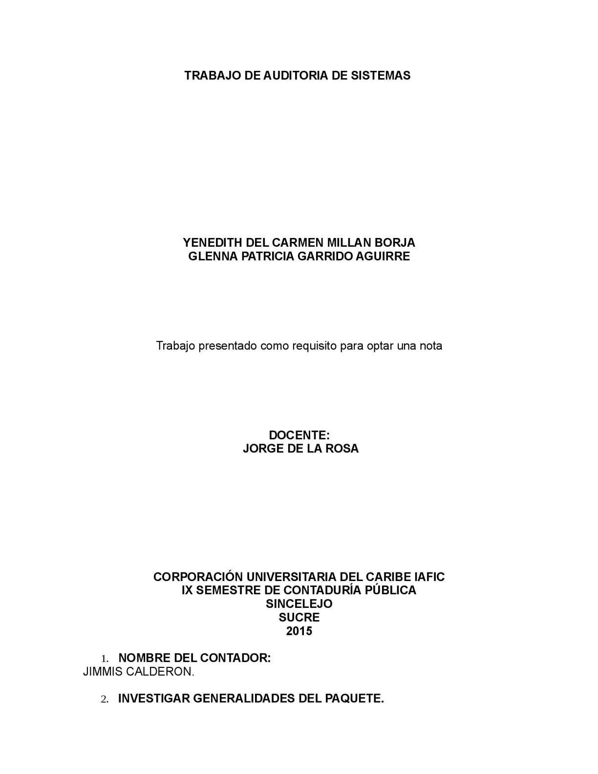 Calaméo - Programa Contable General Ledger Tarea Jorge De La Rosa