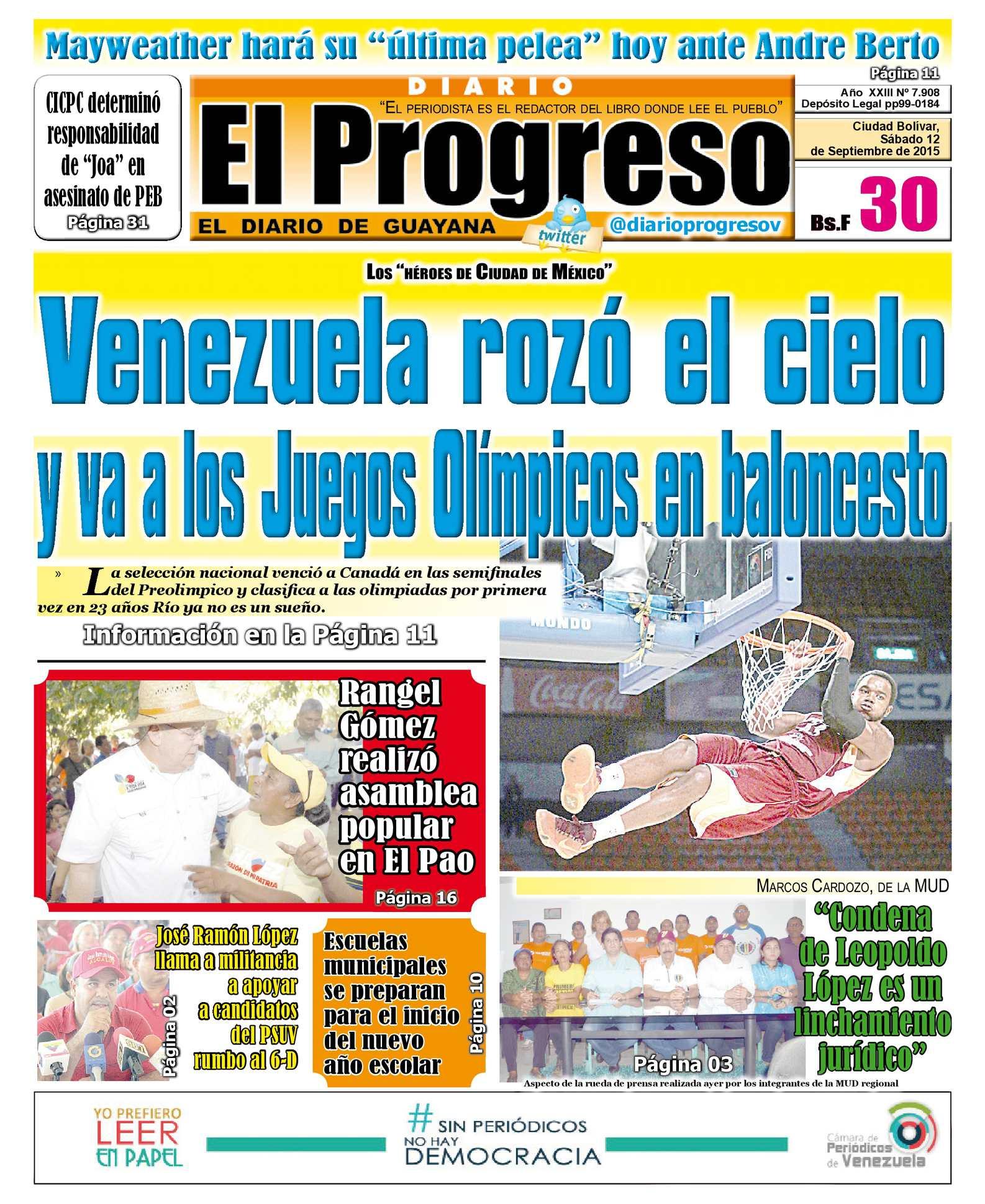 Calaméo - DiarioelprogresoEDICIÓNDIGITAL 12-09-2015