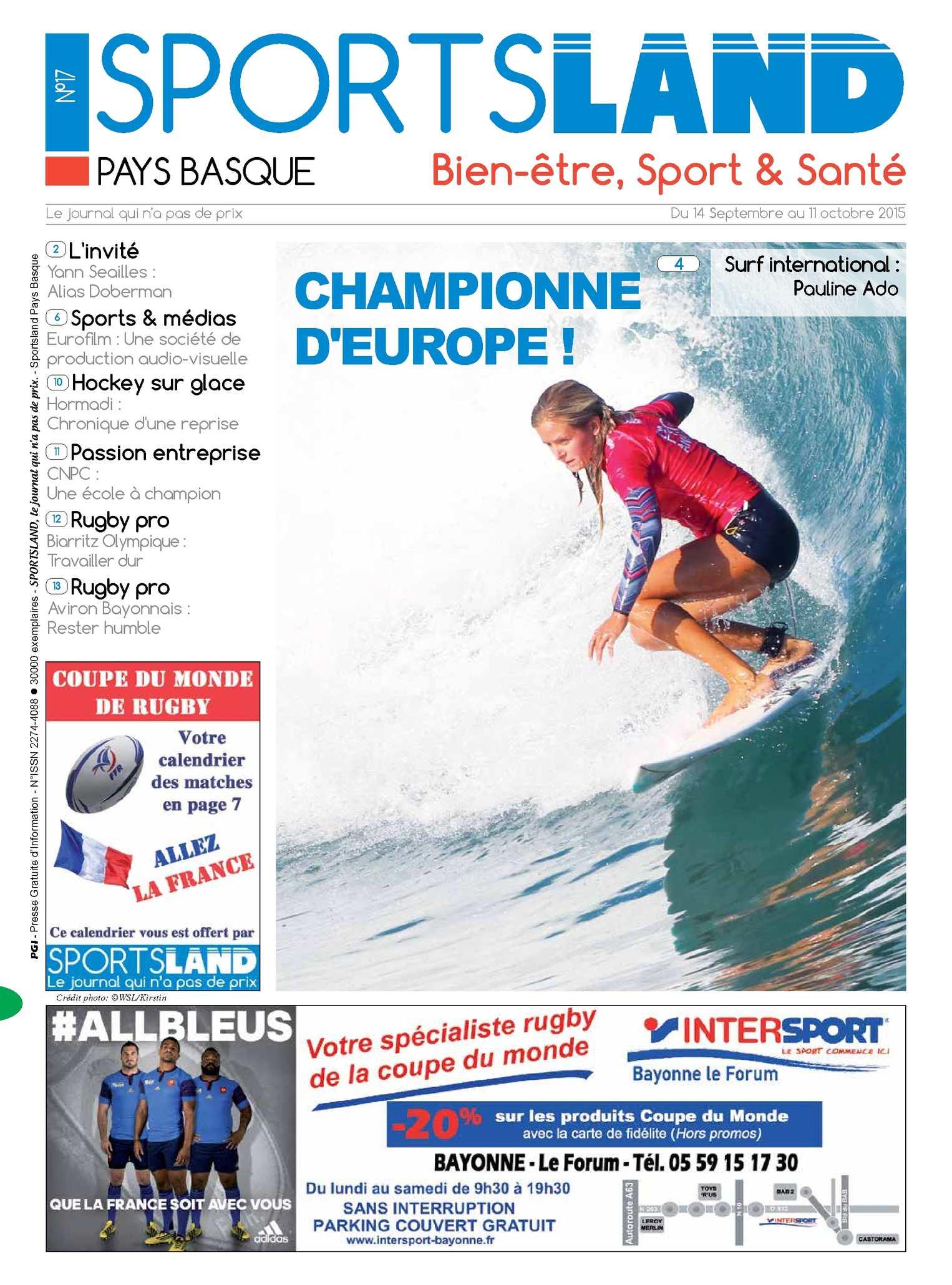 Calaméo - SPORTSLAND PAYS BASQUE N°17 - 14 SEPT 2015 99b680d8620
