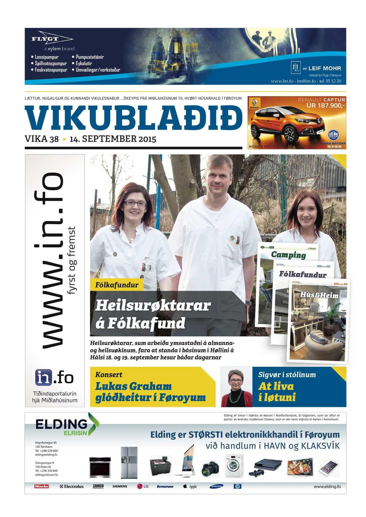 Vikublaðið 14. sep. 2015