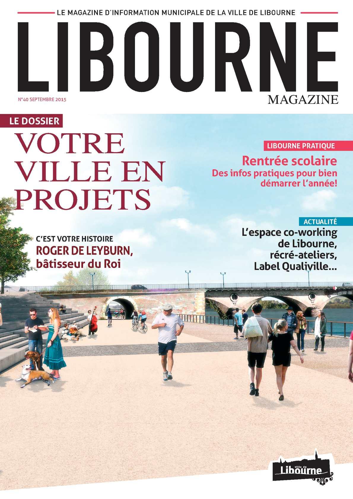 Calam o libourne magazine n 40 septembre 2015 for Piscine de libourne