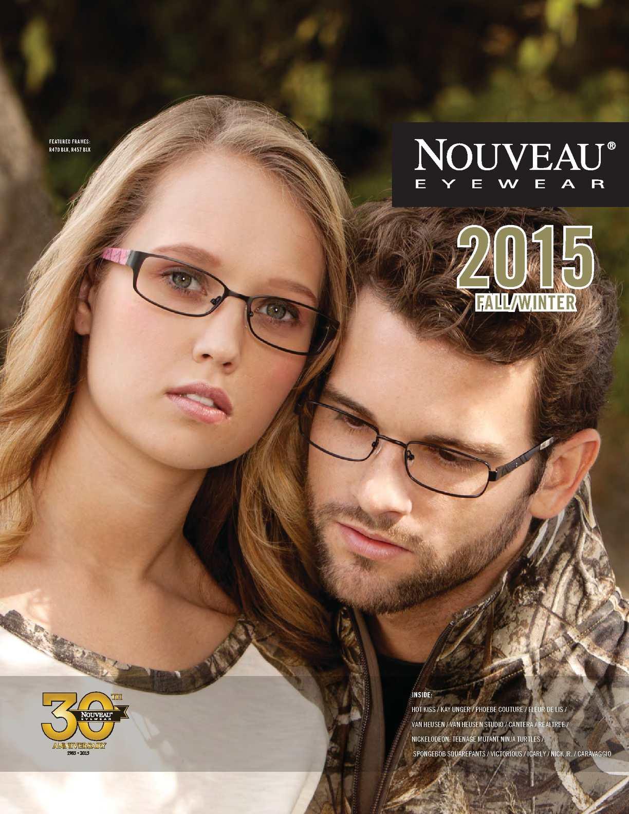 2015 Nouveau Eyewear Winter Catalog
