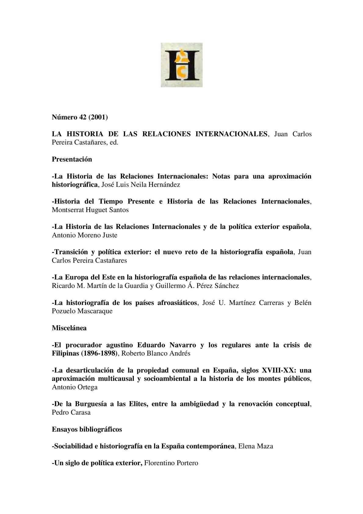 Calaméo - Relaciones Internacionales