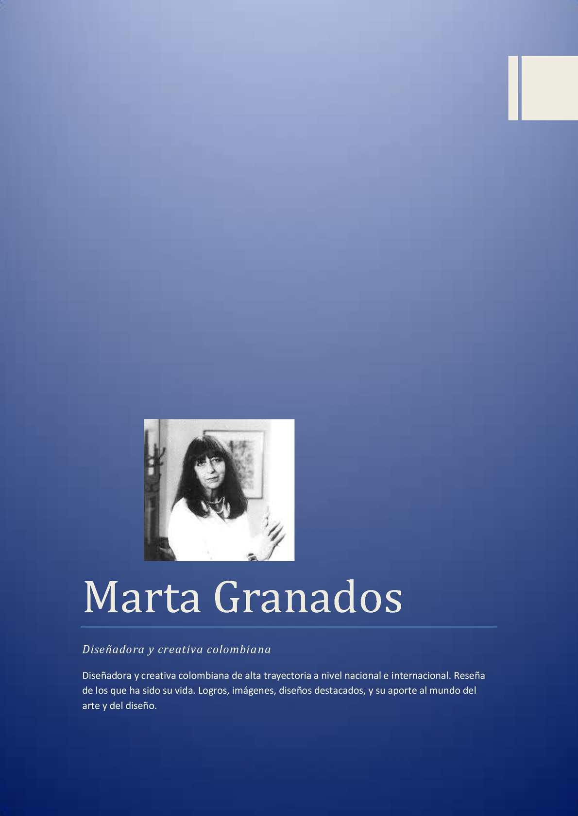 Martha Granados