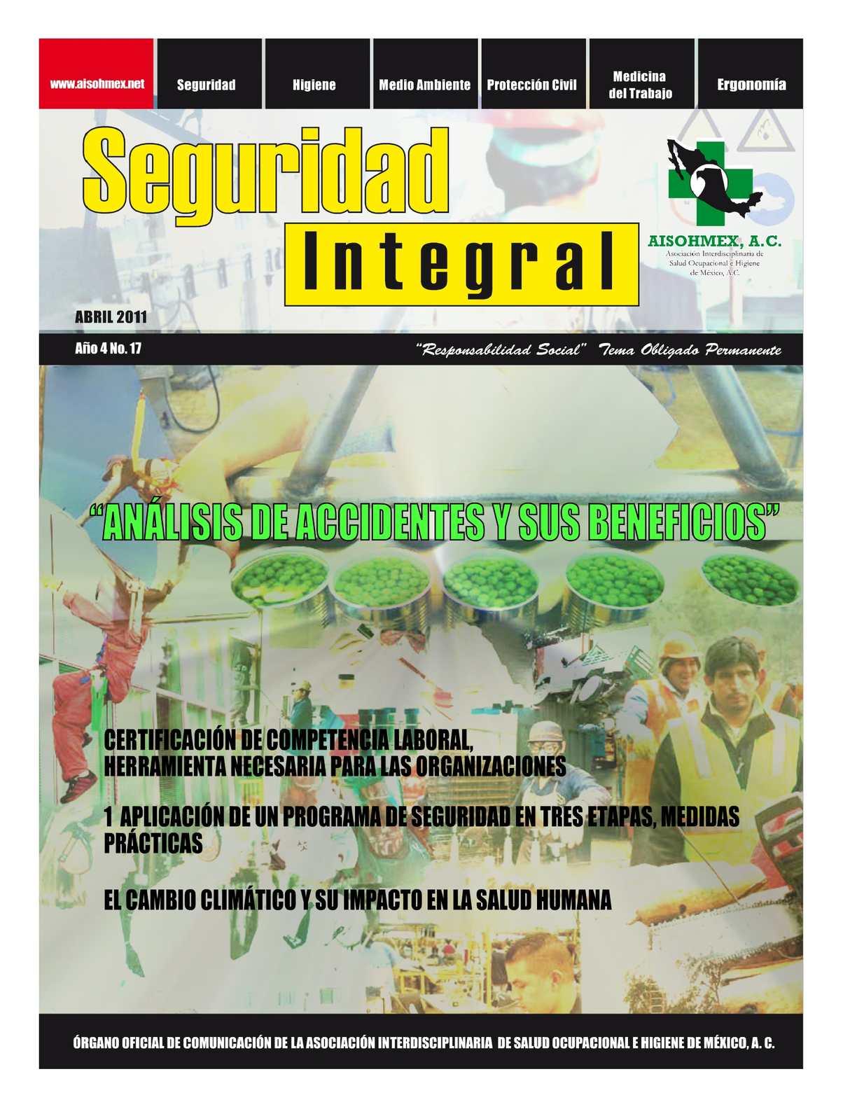Revista Seguridad Integral No 17