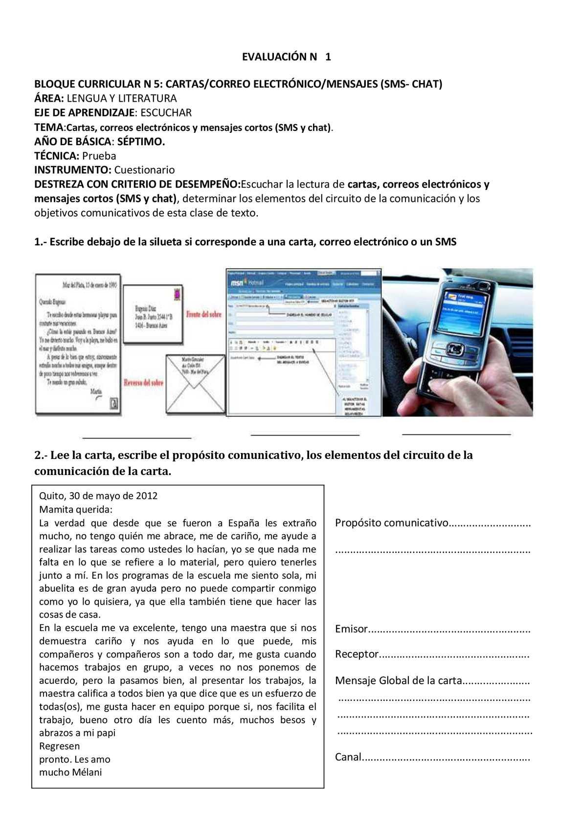 Circuito Comunicativo : Evaluaciones 7 año calameo downloader