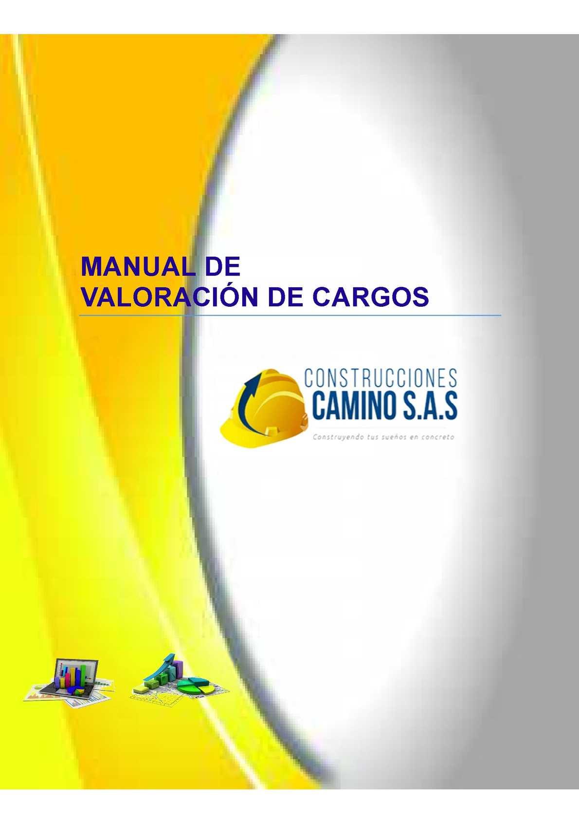 Manual Valoración De Cargos