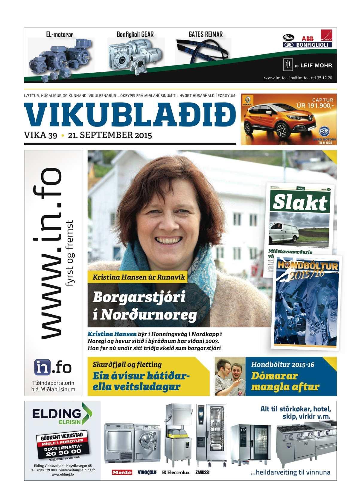 Vikublaðið 21 sep. 2015