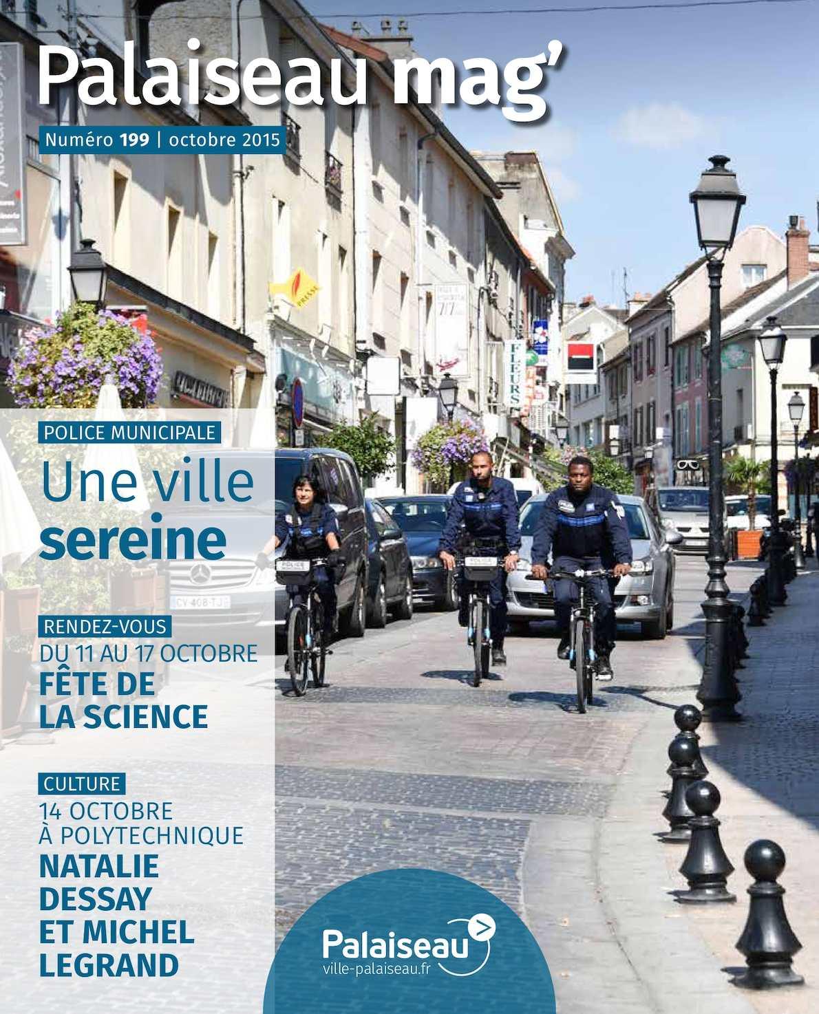 Calam o palaiseau mag n 199 octobre 2015 for Piscine de palaiseau