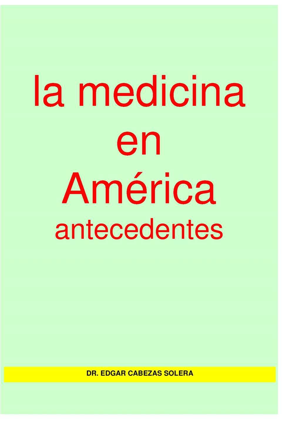 Calaméo - La Medicna En America