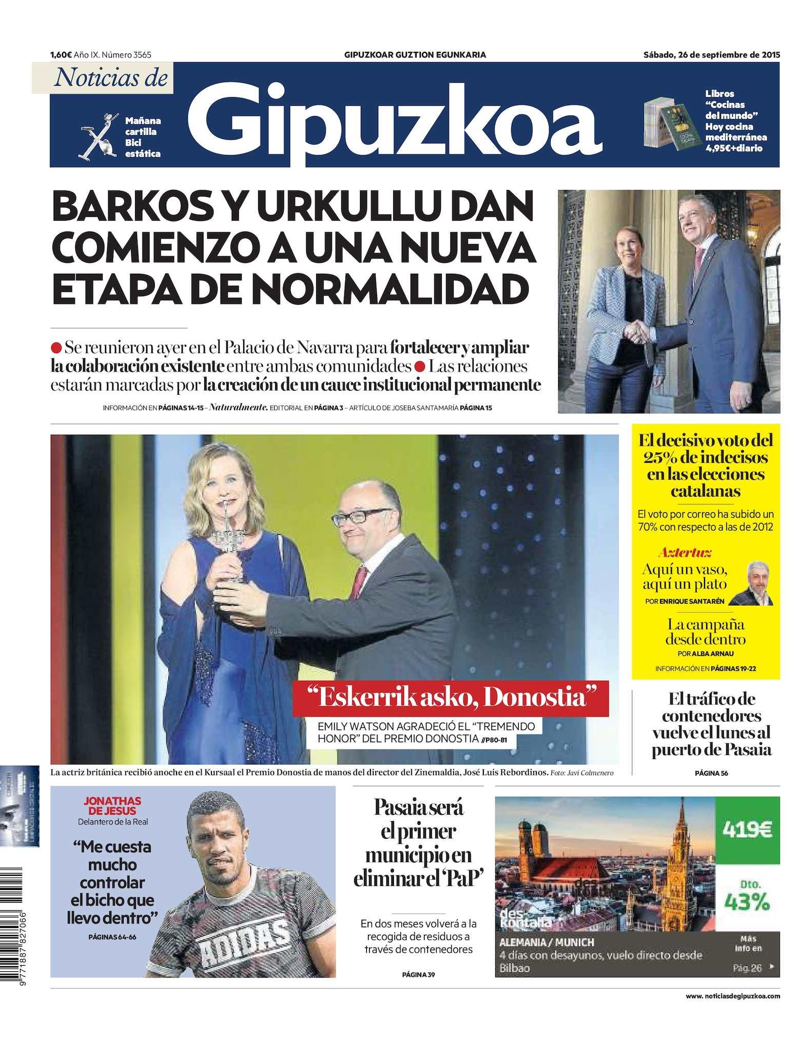 Calaméo - Noticias de Gipuzkoa 20150926