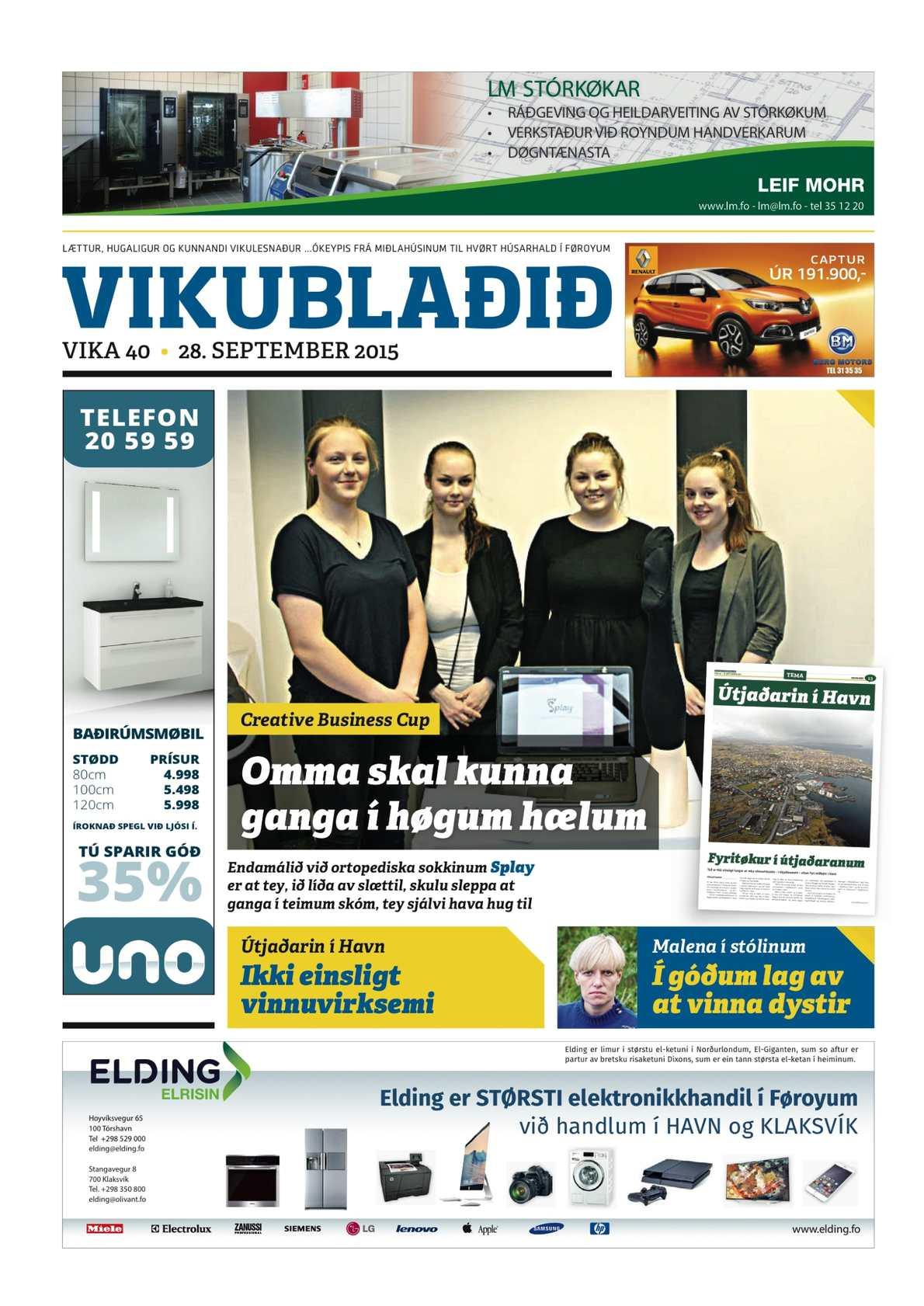 Vikublaðið 28 sep. 2015