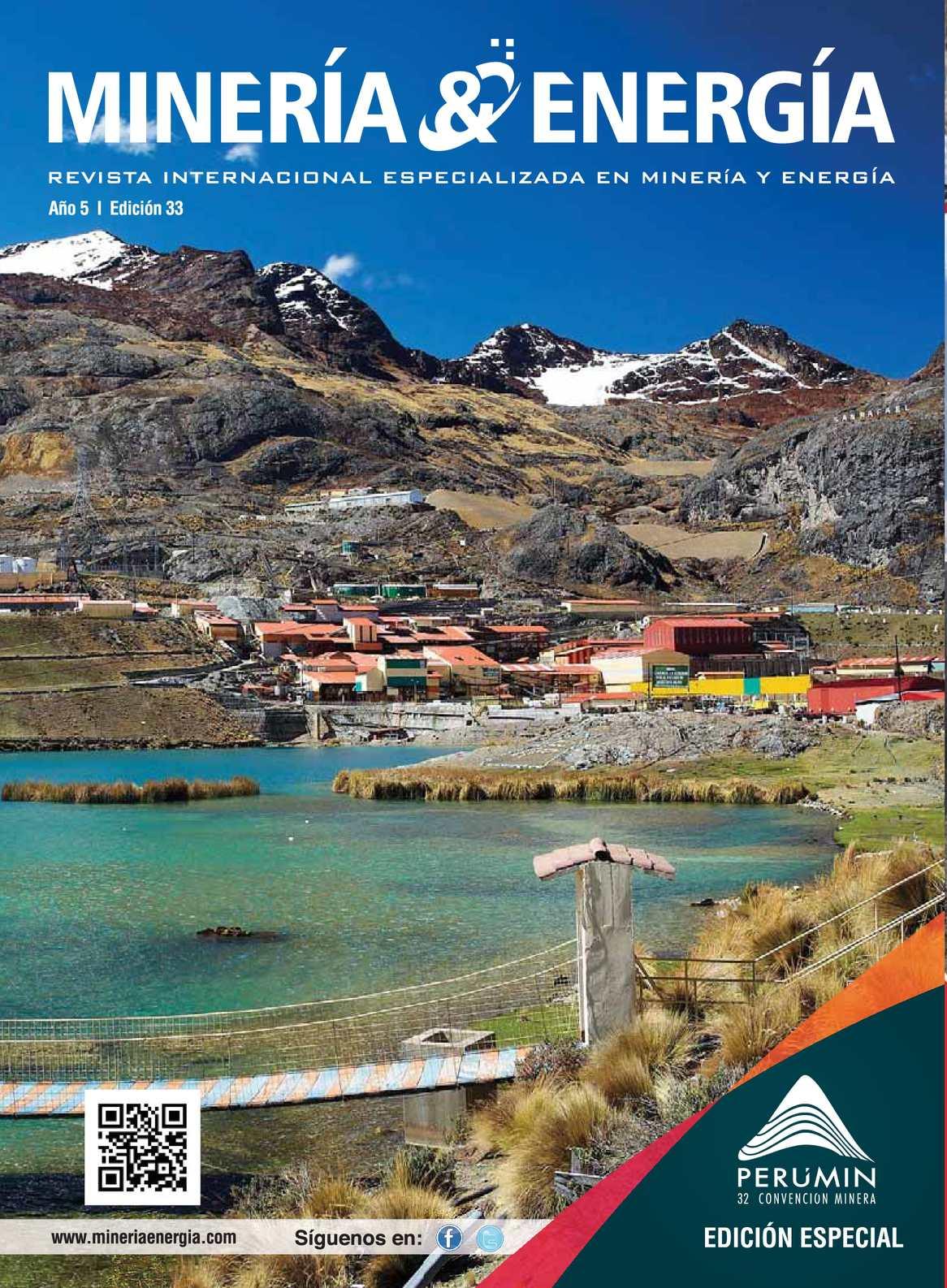 Calaméo - Revista Minería y Energía Edición Nº 33