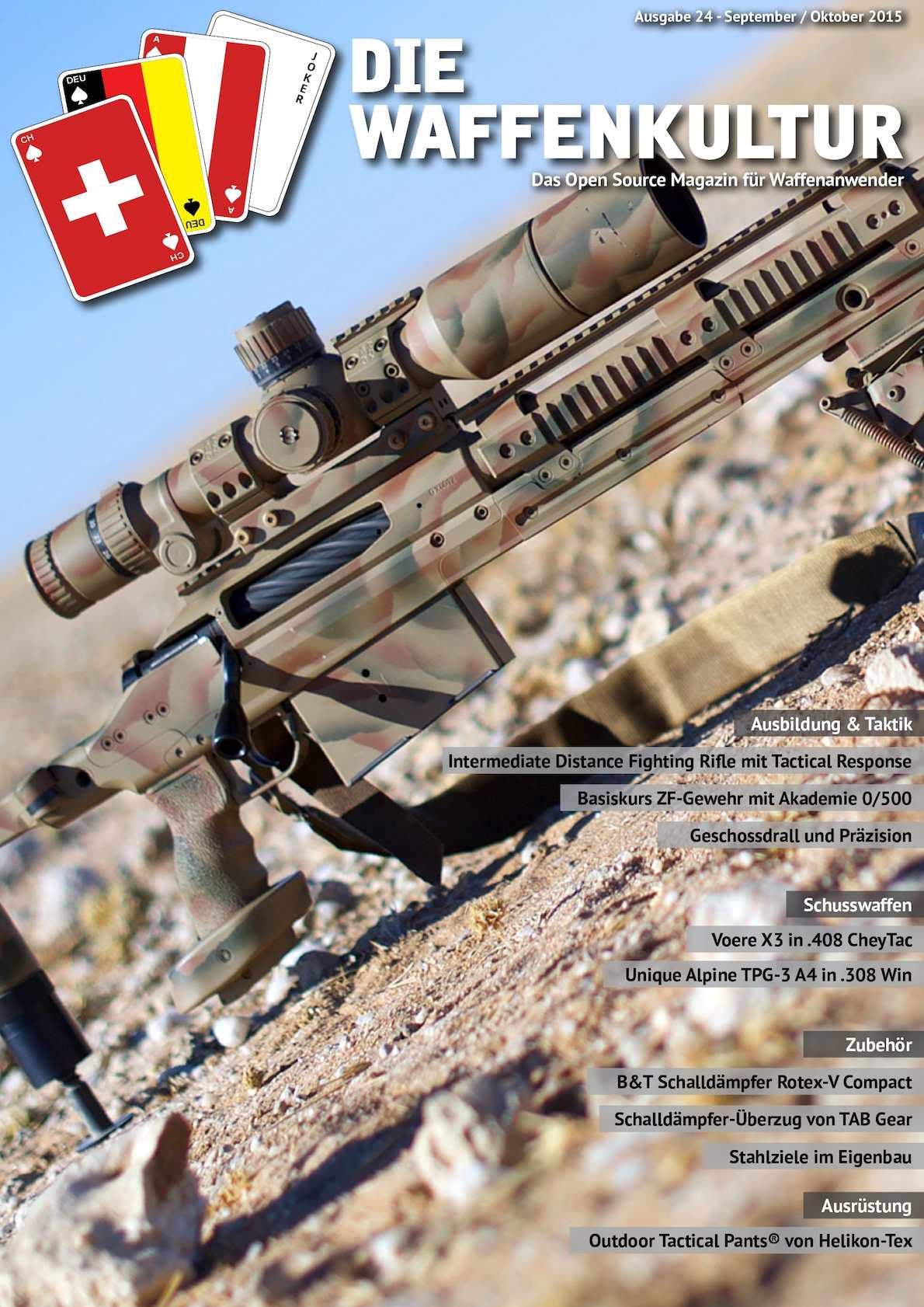 Calaméo - Die Waffenkultur - Ausgabe 24- September / Oktober 2015