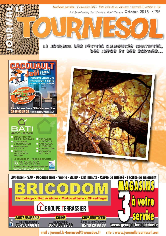 Calaméo Journal Le Tournesol Octobre - Carrelage piscine et tapis audi a1