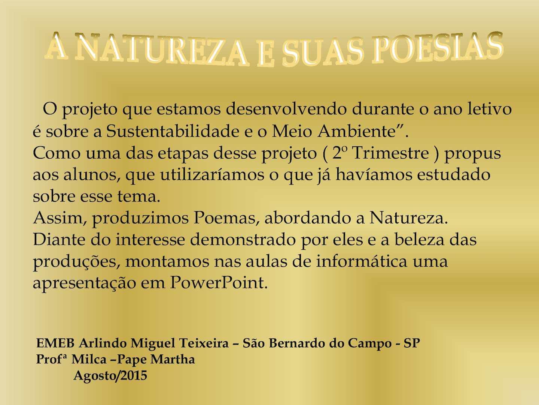 Muitas vezes Calaméo - Poesia Natureza FA58