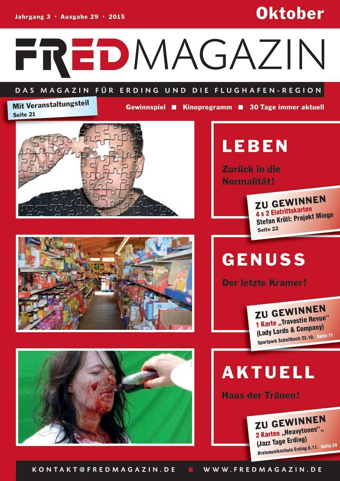 Calaméo - FRED Magazin Oktober 2015