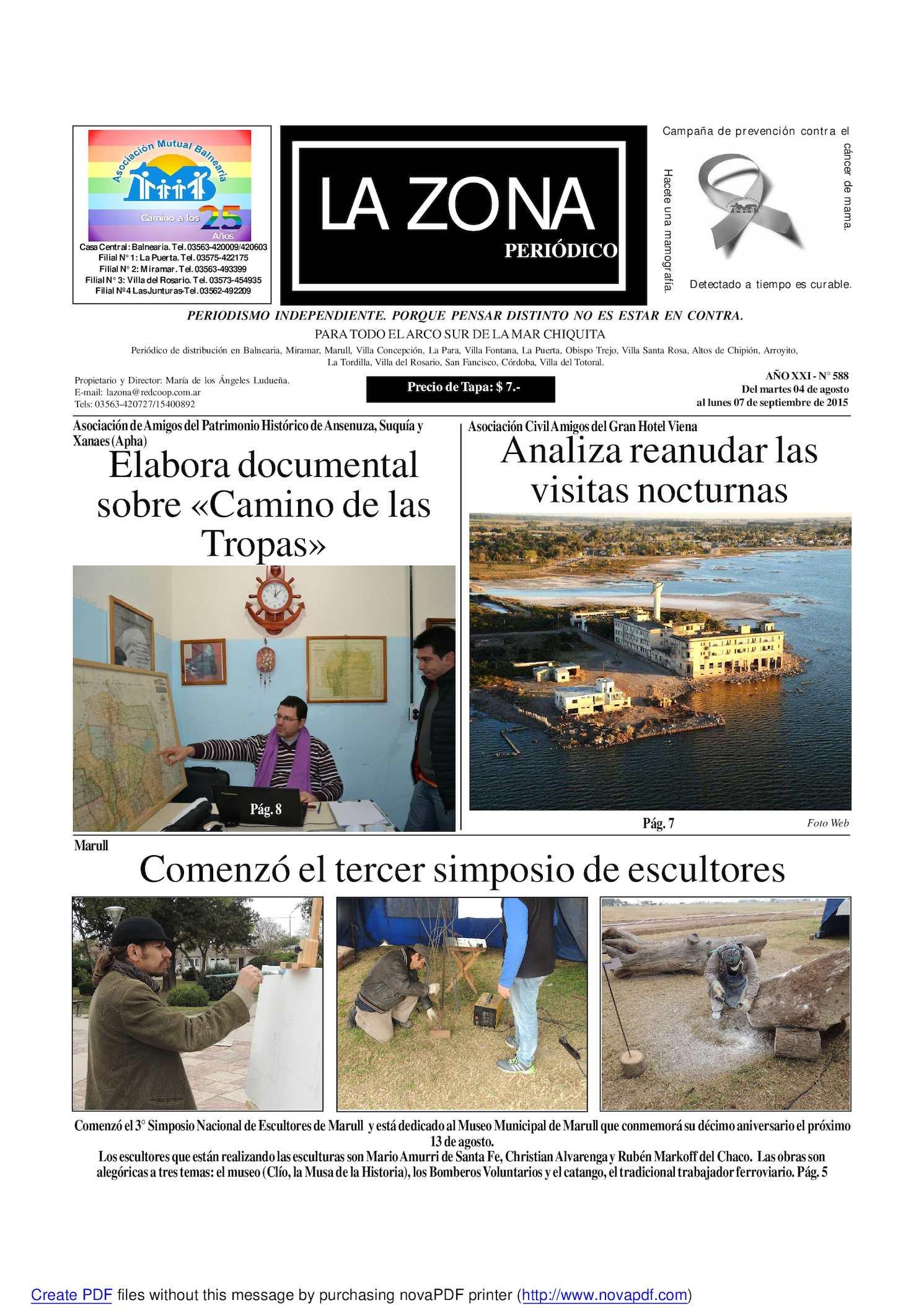 Calaméo - Zona 4 De Agosto 2015