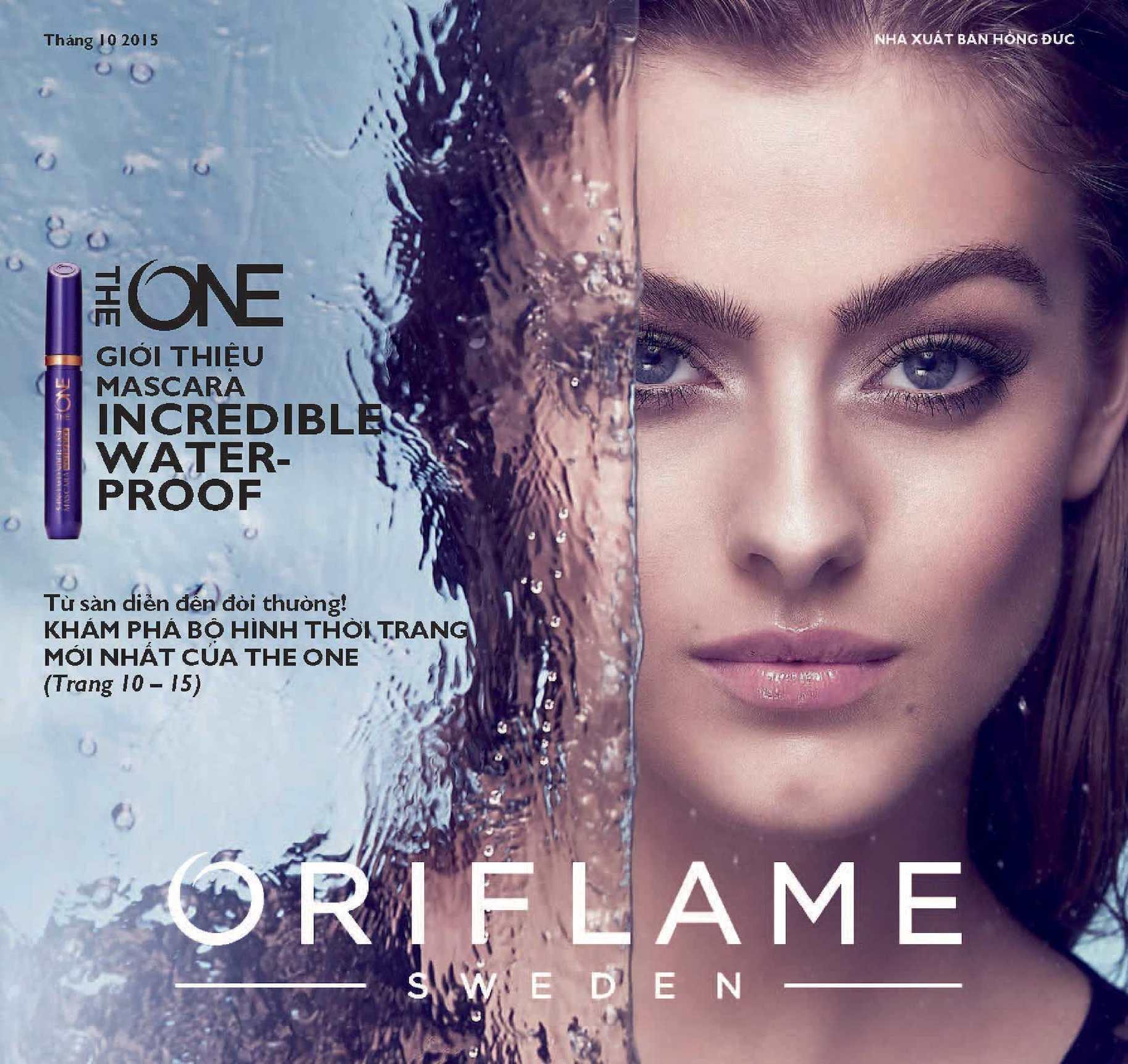 Catalogue My Pham Oriflame 10-2015