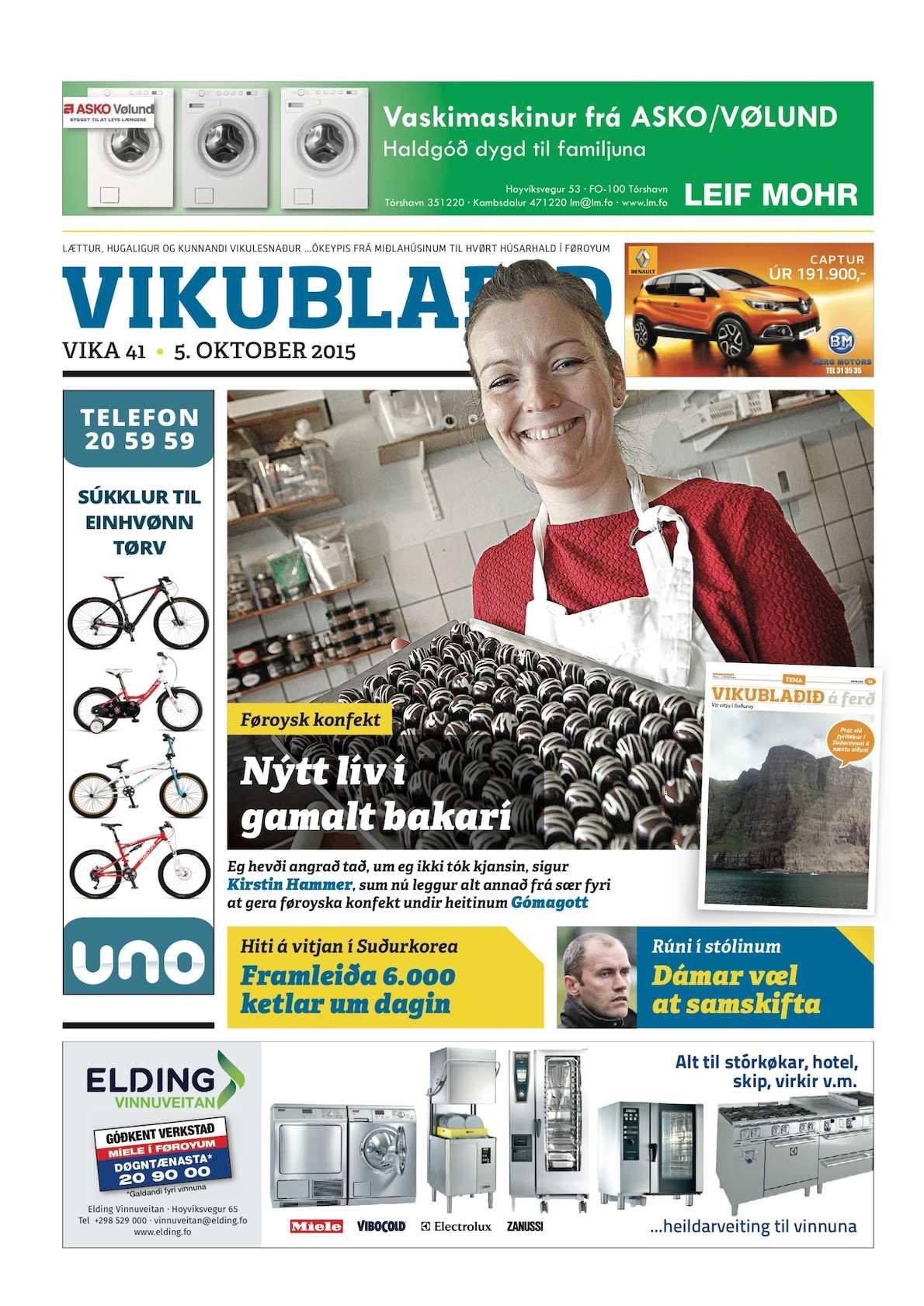 Vikublaðið 5. okt. 2015
