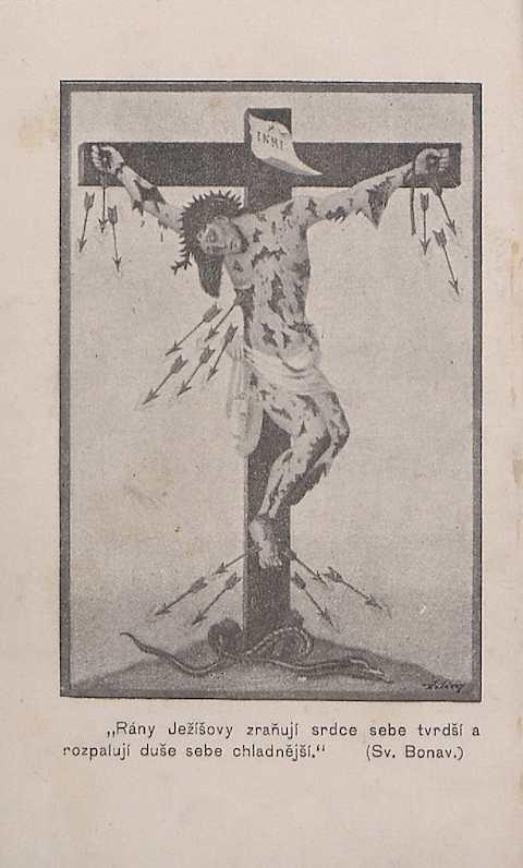 Ohnivé šípy a vroucí vzdechy Alfonso Maria de Liguori, svatý, 1898