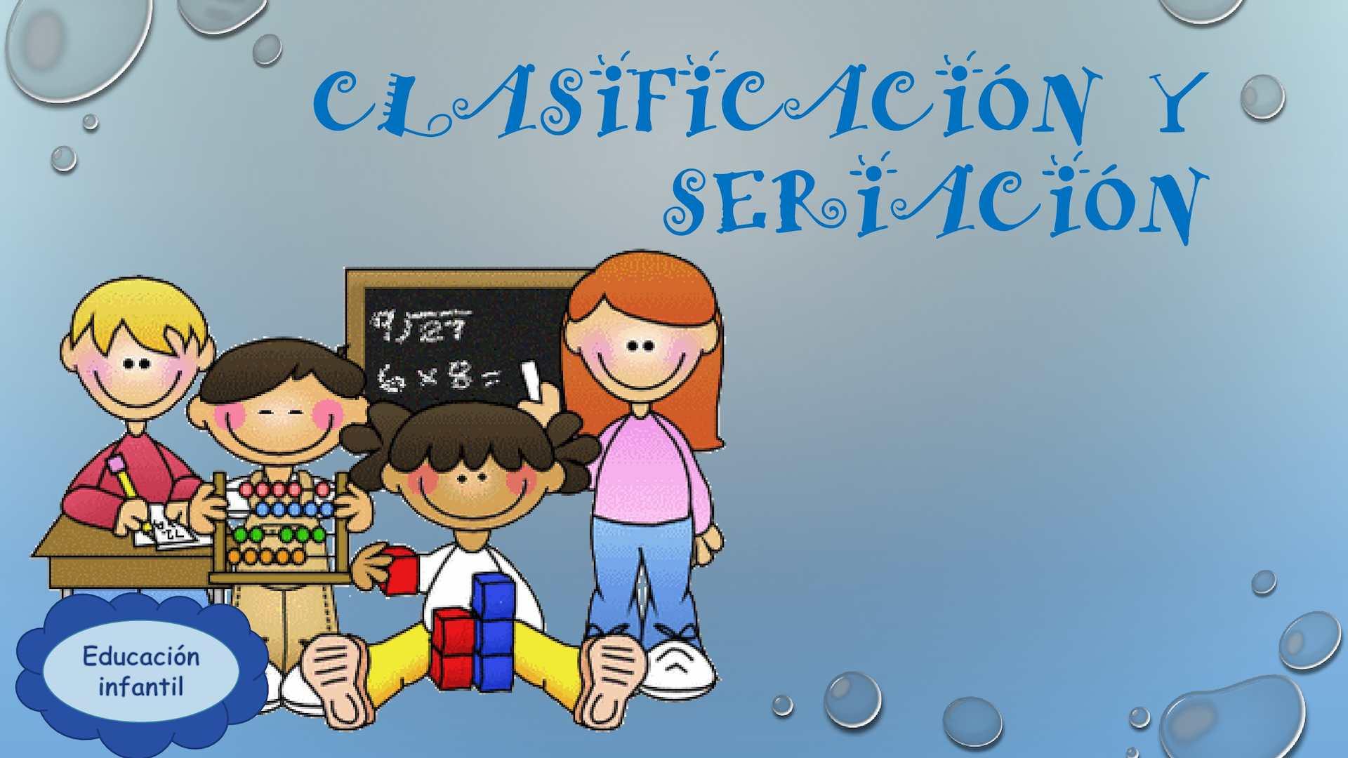 Clasificación y Seriación
