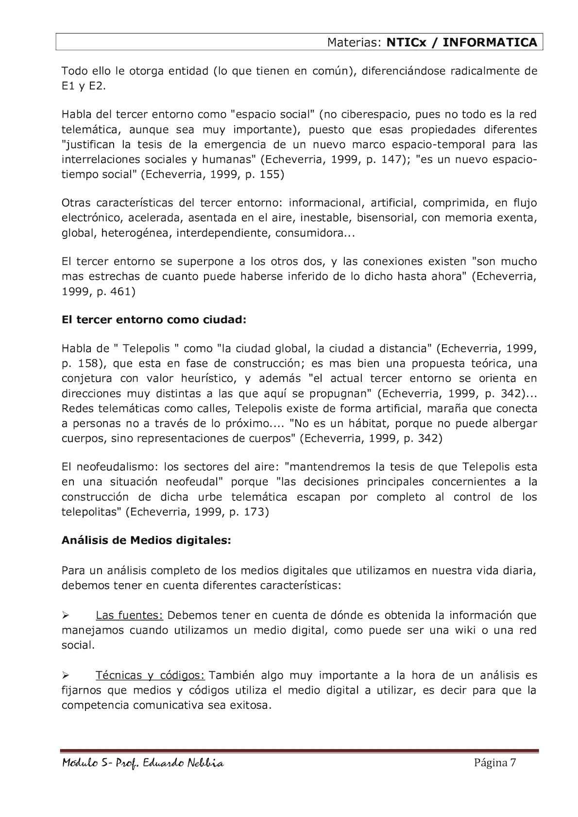 Modulo 5 Alfabetización En Medios Digitales De Comunicación Y ...