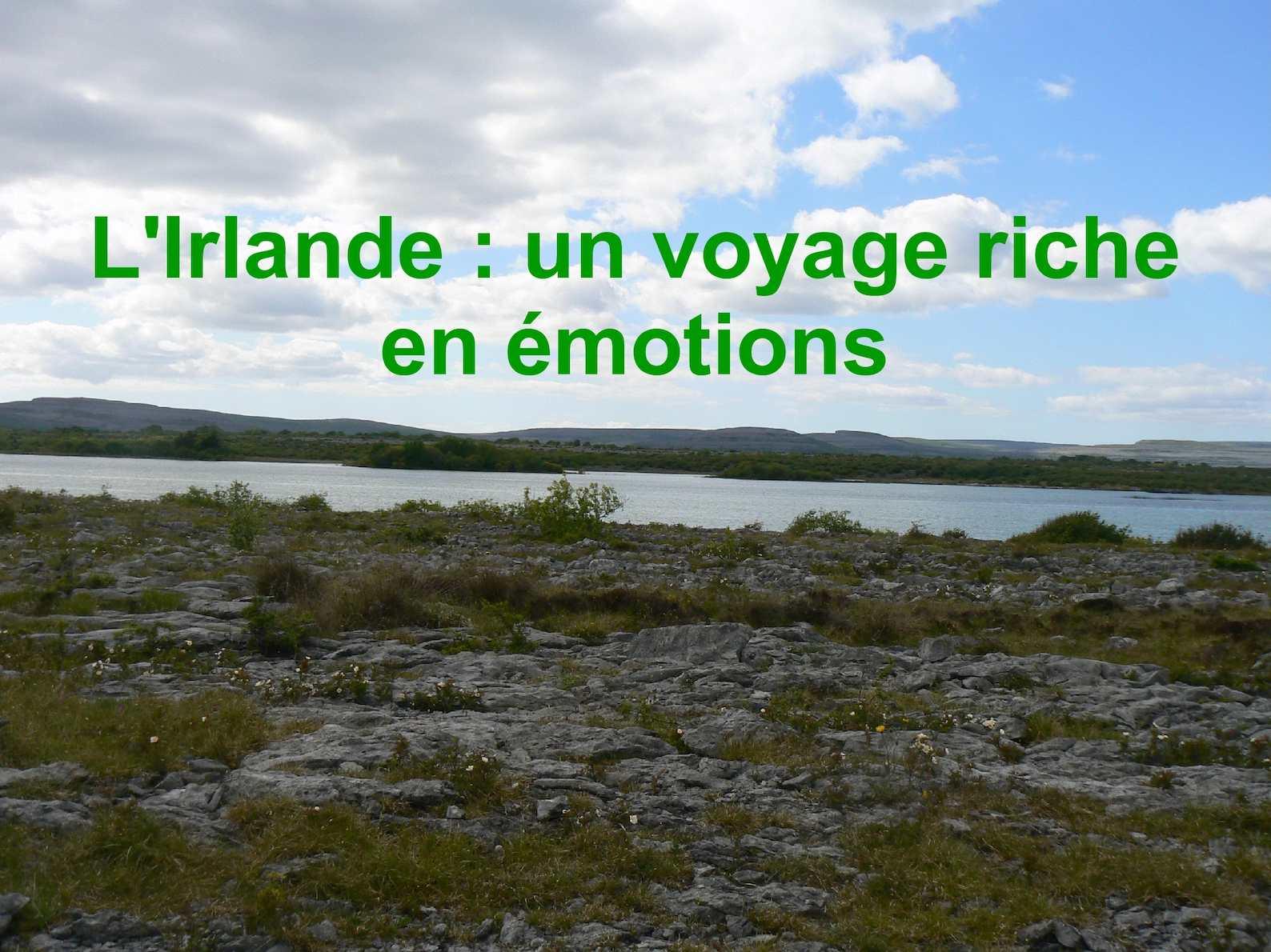 Irlande: un voyage riche en emotions