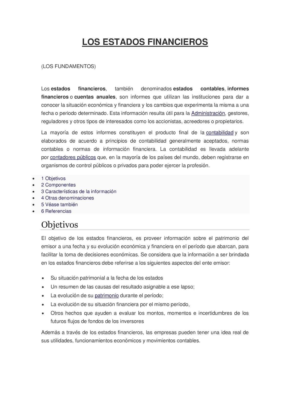 Calaméo - Nuestra Revista Estados Financieros (Los Fundamentos)