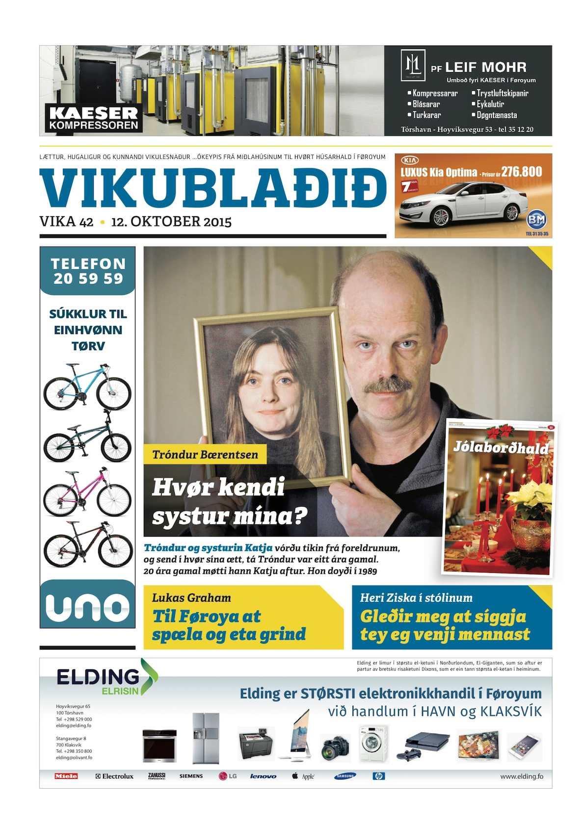 Vikublaðið   12. okt 2015