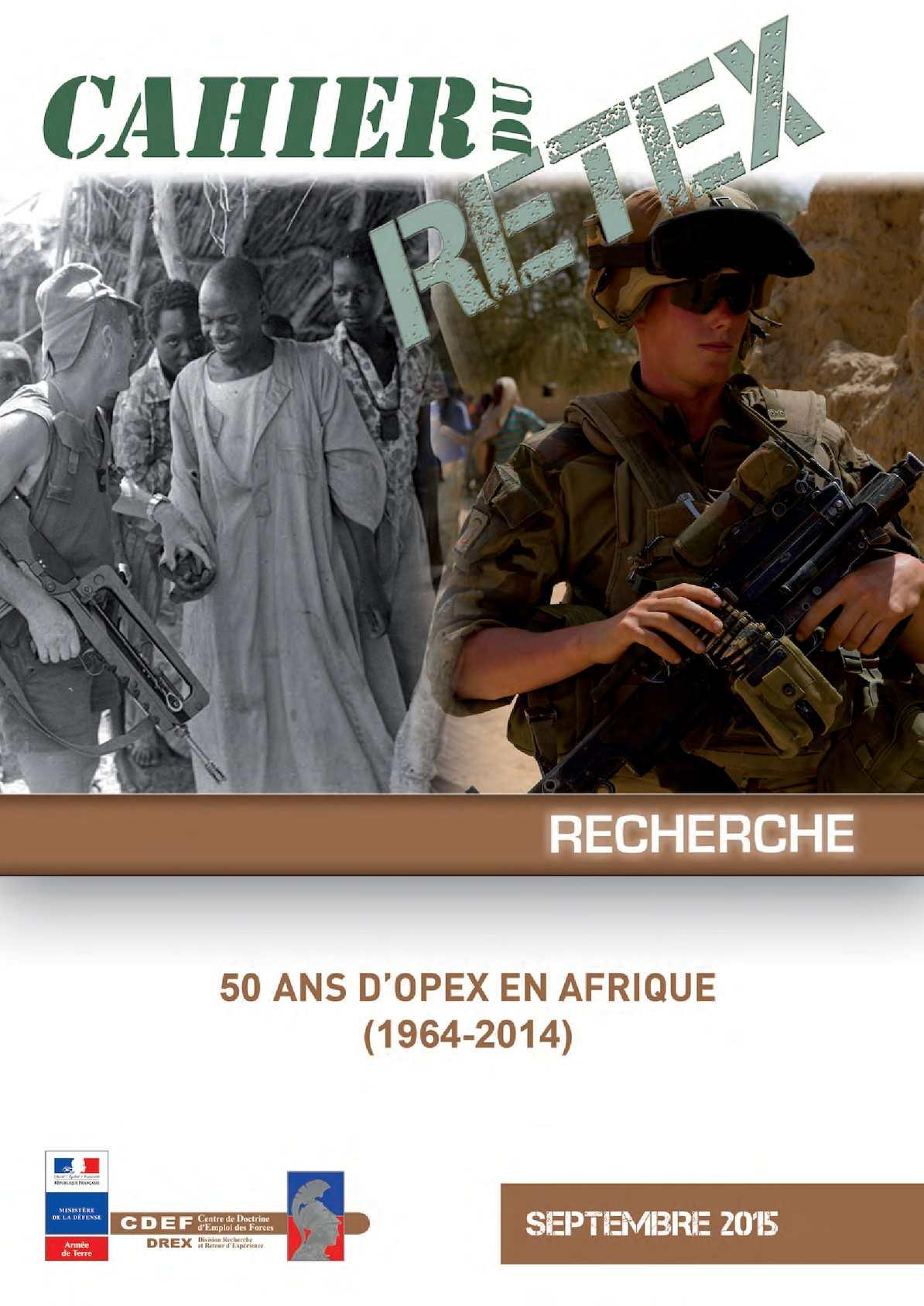 50 ans d'Opex en Afrique (1964-2014)