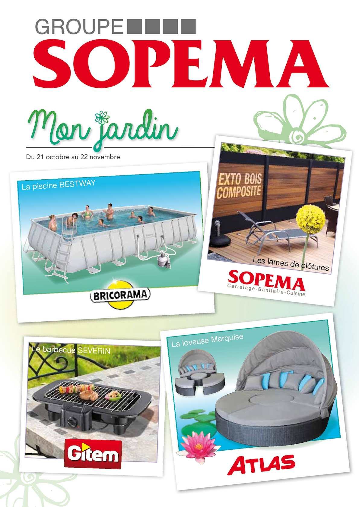 Calam o catalogue jardin du 21 10 2015 au 22 11 2015 for Catalogue jardin 2015 honda