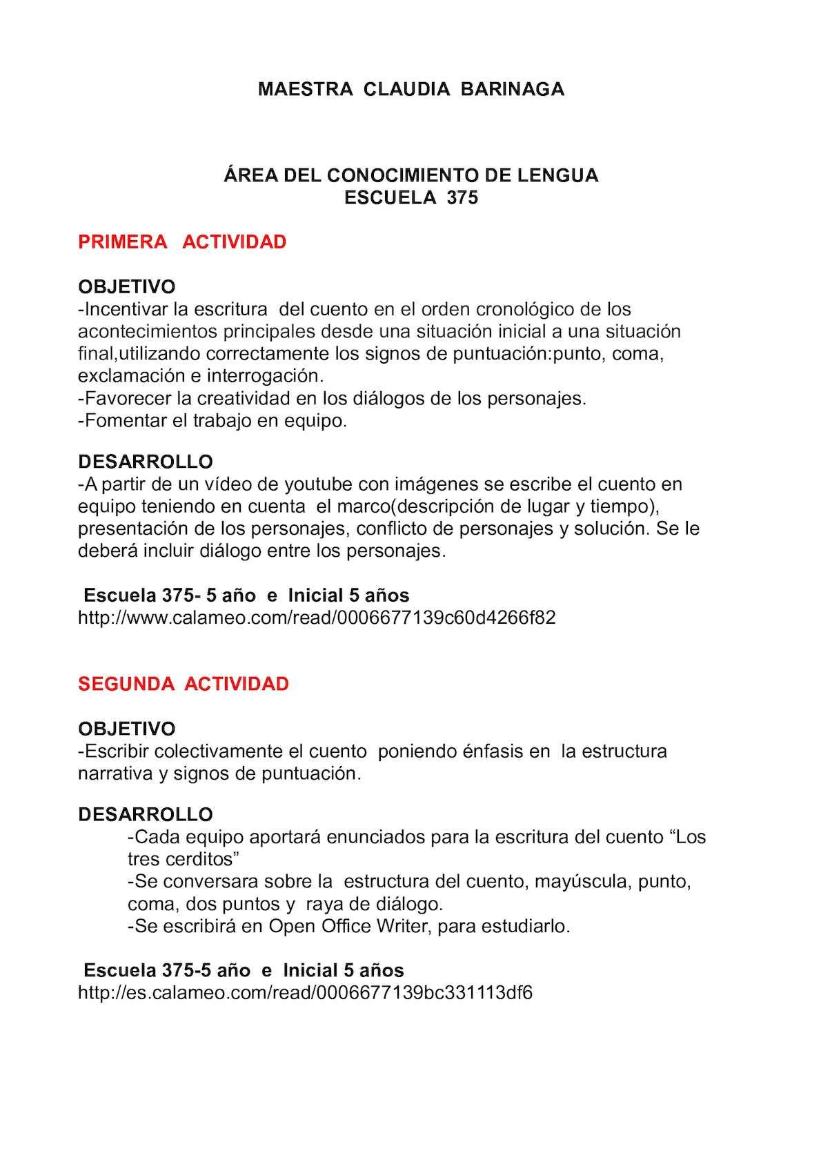 Calaméo - Escuela 364 Y 375