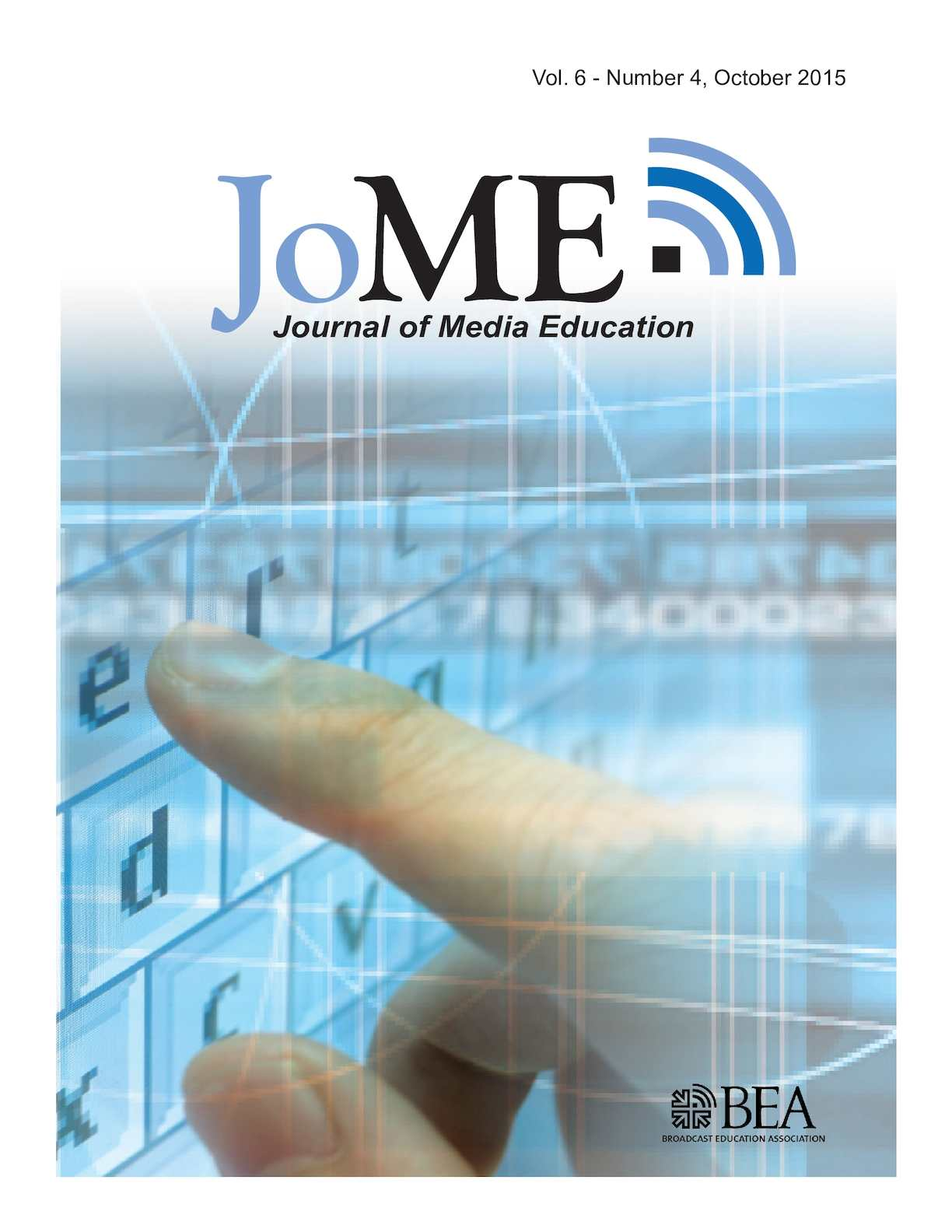 Calaméo - Journal of Media Education   October 2015