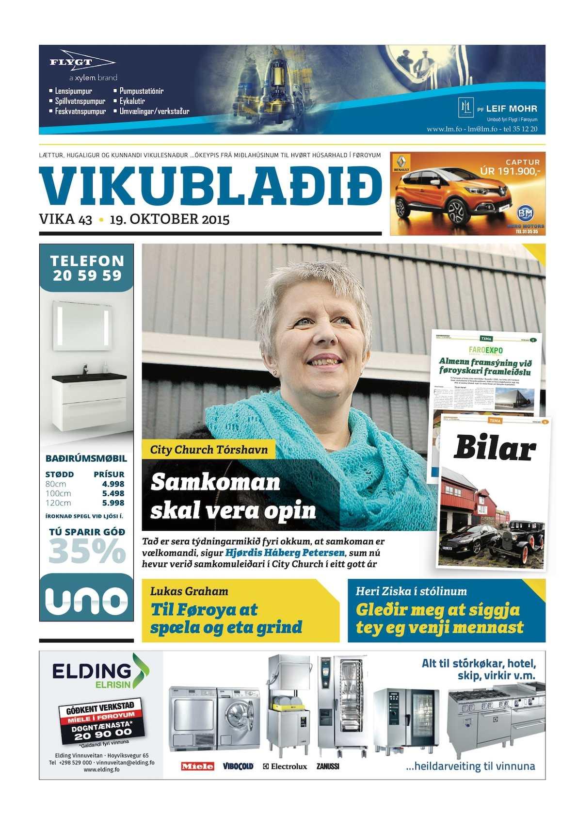 Vikublaðið   19. okt 2015