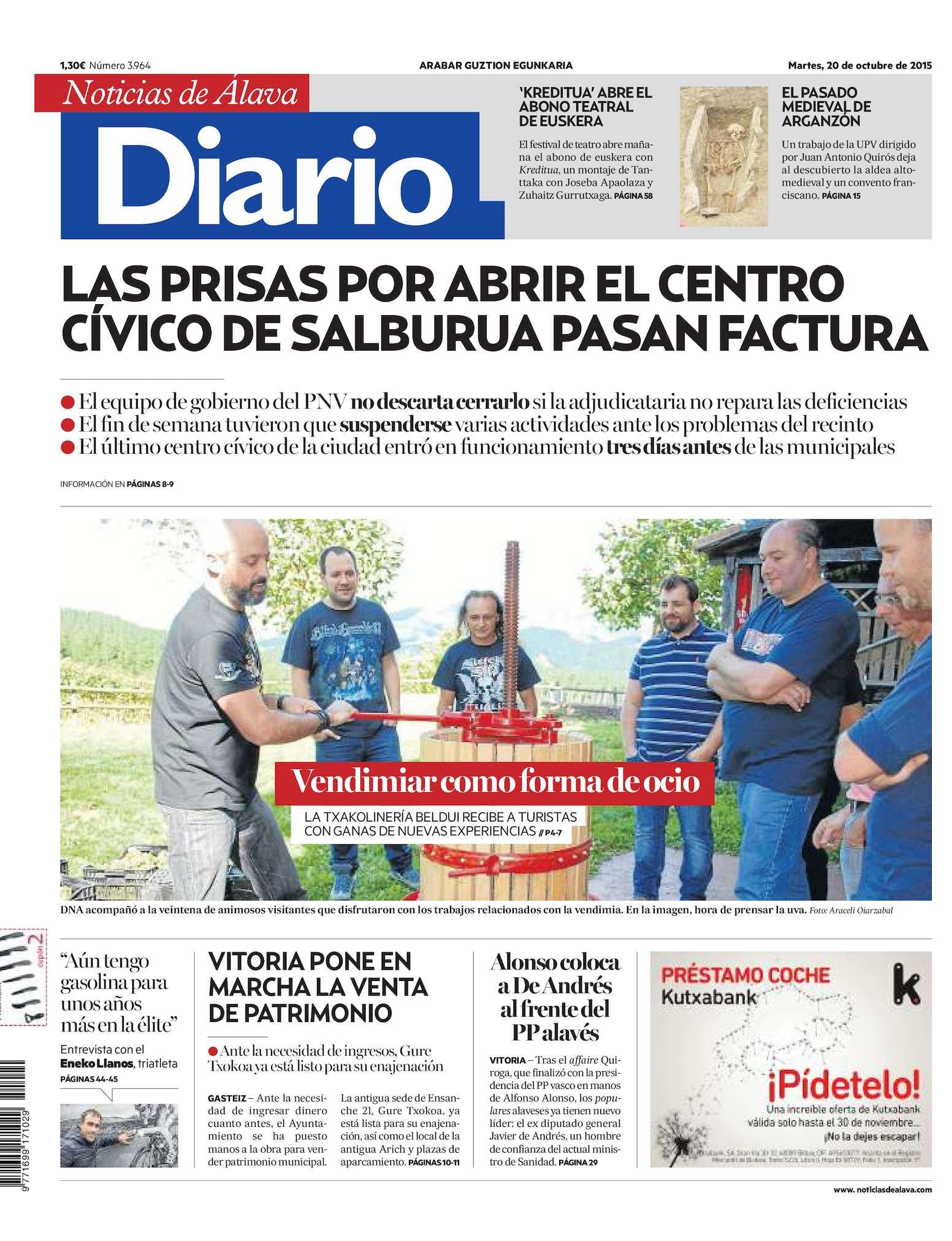 Calaméo - Diario de Noticias de Álava 20151020