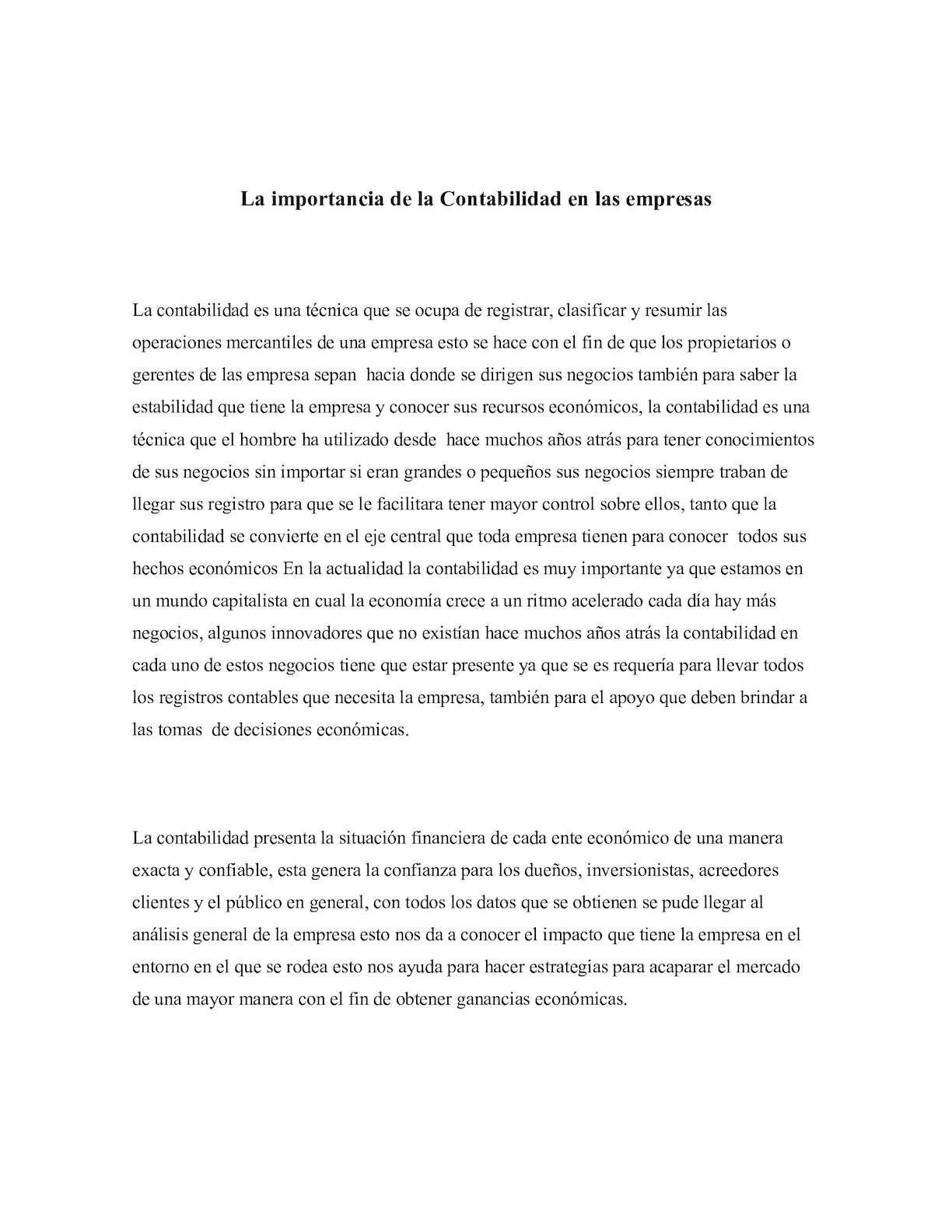 Calaméo - La Importancia De La Contabilidad En Las Empresas