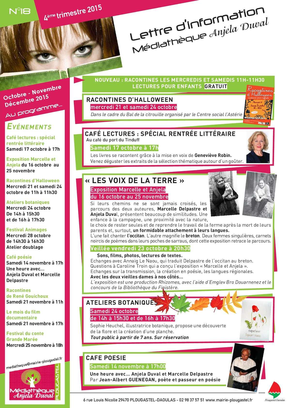 Calameo Mediatheq Lettre Info 4e Trim