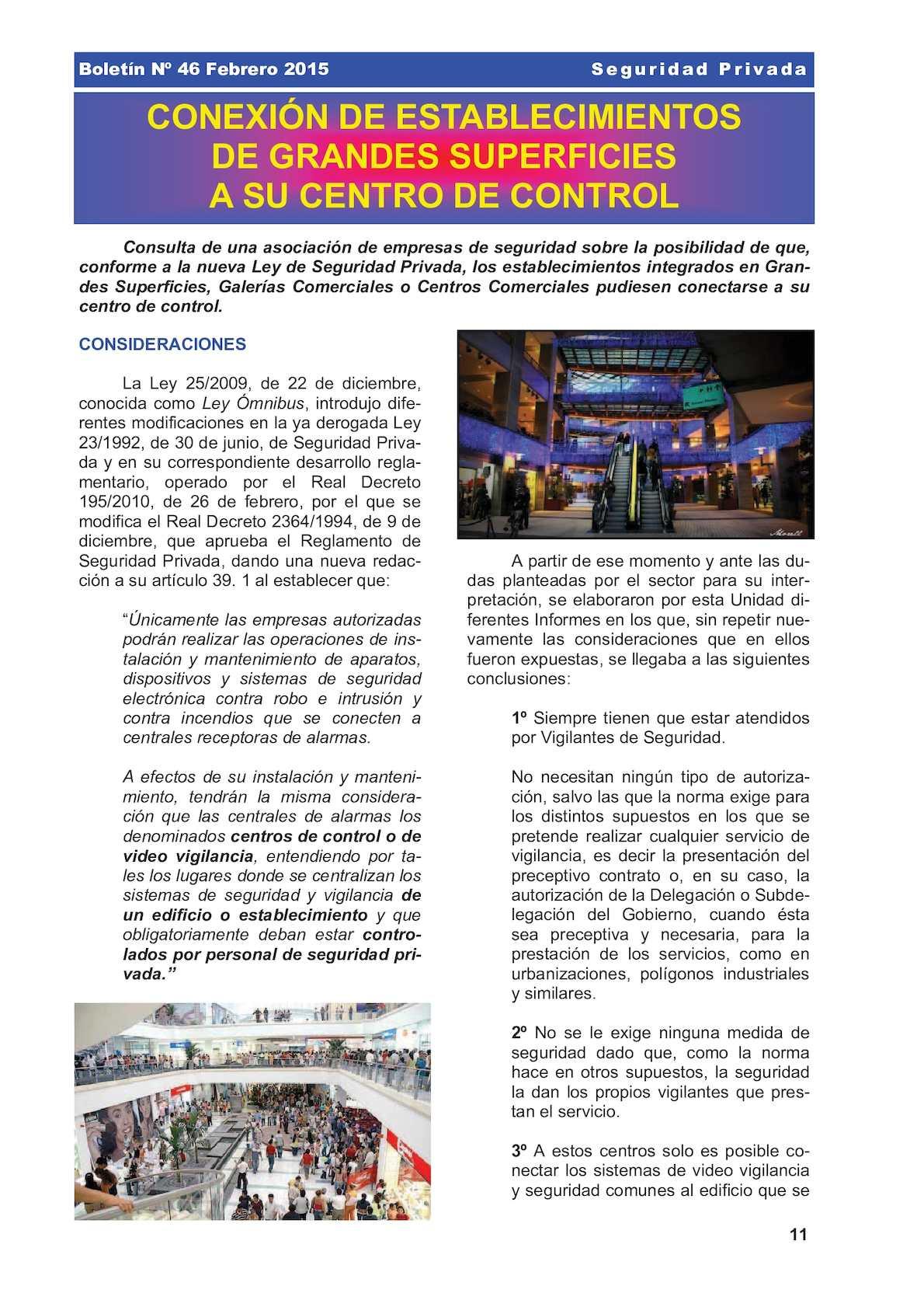 CRA - Conexion De Alarmas Al Centro De Control De Un Centro Comercial Segurpri 046