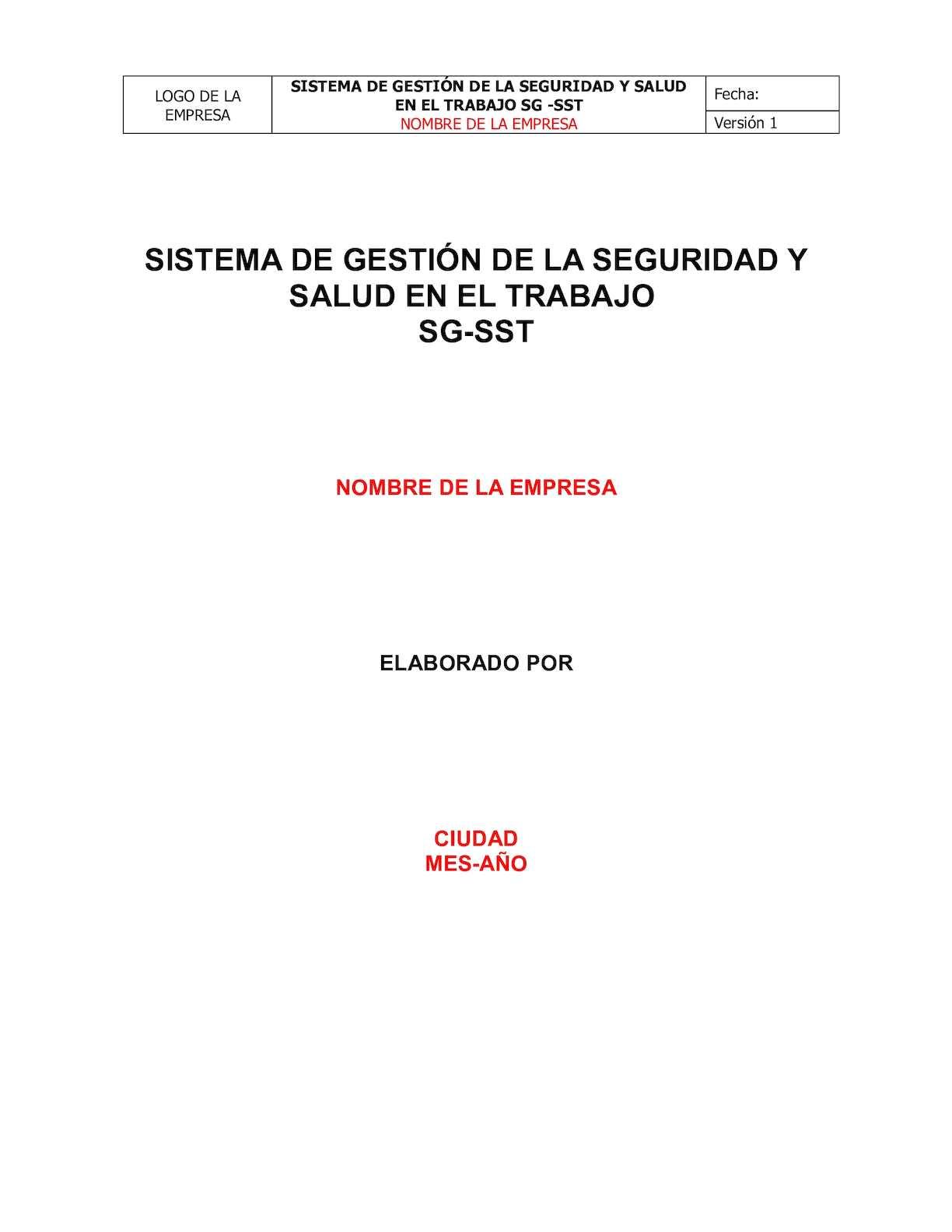 Calaméo - Plantilla Salud Ocupacional
