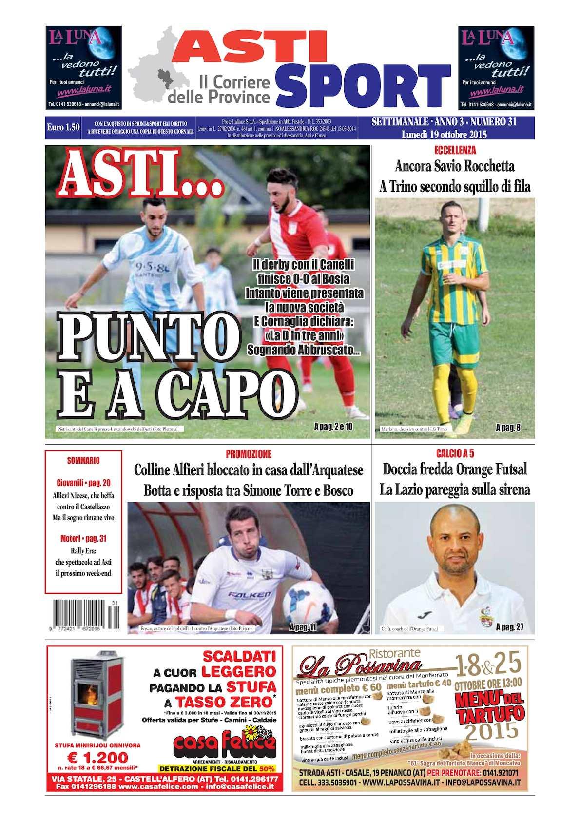 Calaméo 2015 Asti Sport 31