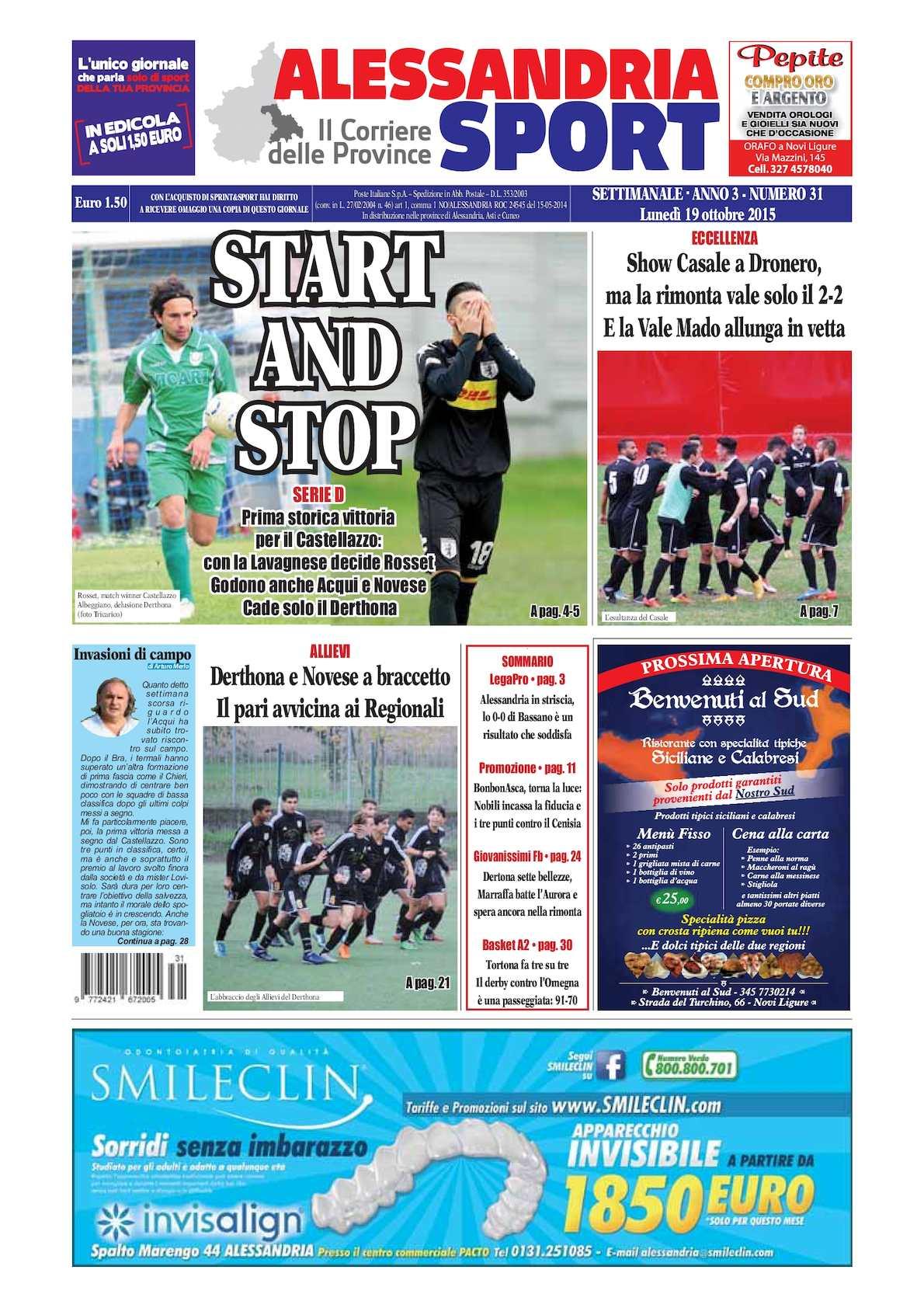 Calaméo 2015 Alessandria Sport 31