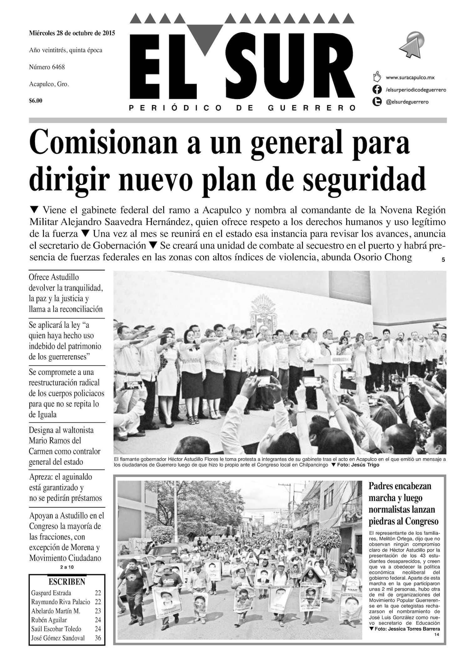 Calaméo - El Sur Miercoles 28102015 4c568e2f28c9f