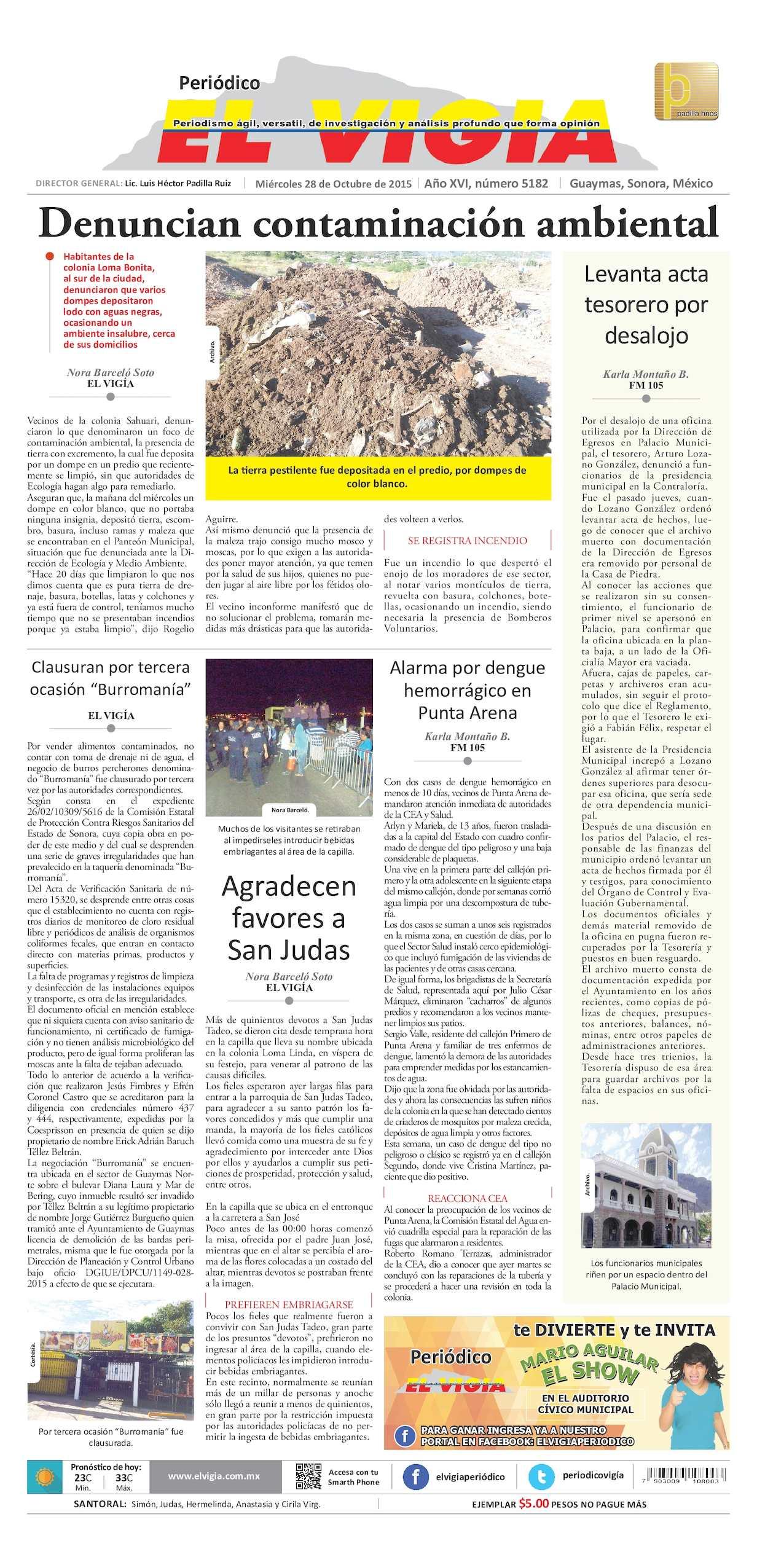 Calaméo - 28 de octubre del 2015