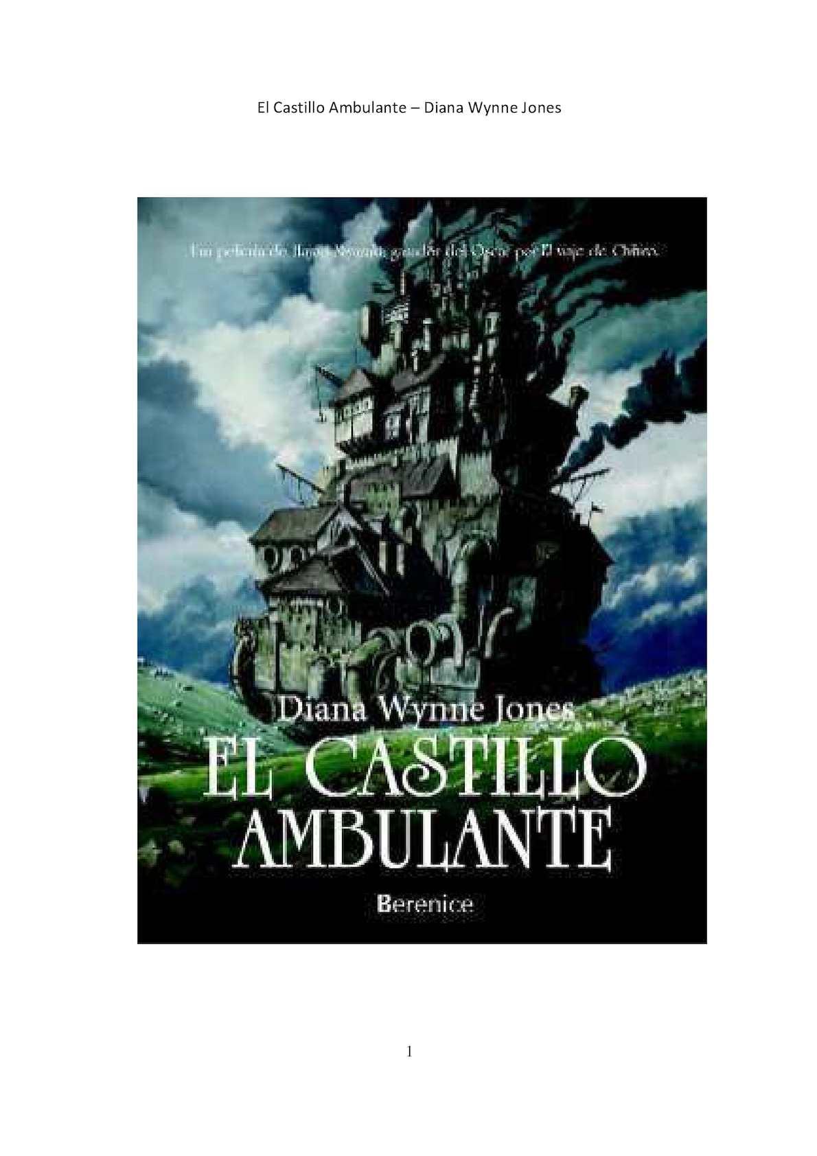 Diana Wynne Jones El Castillo Ambulante Pdf