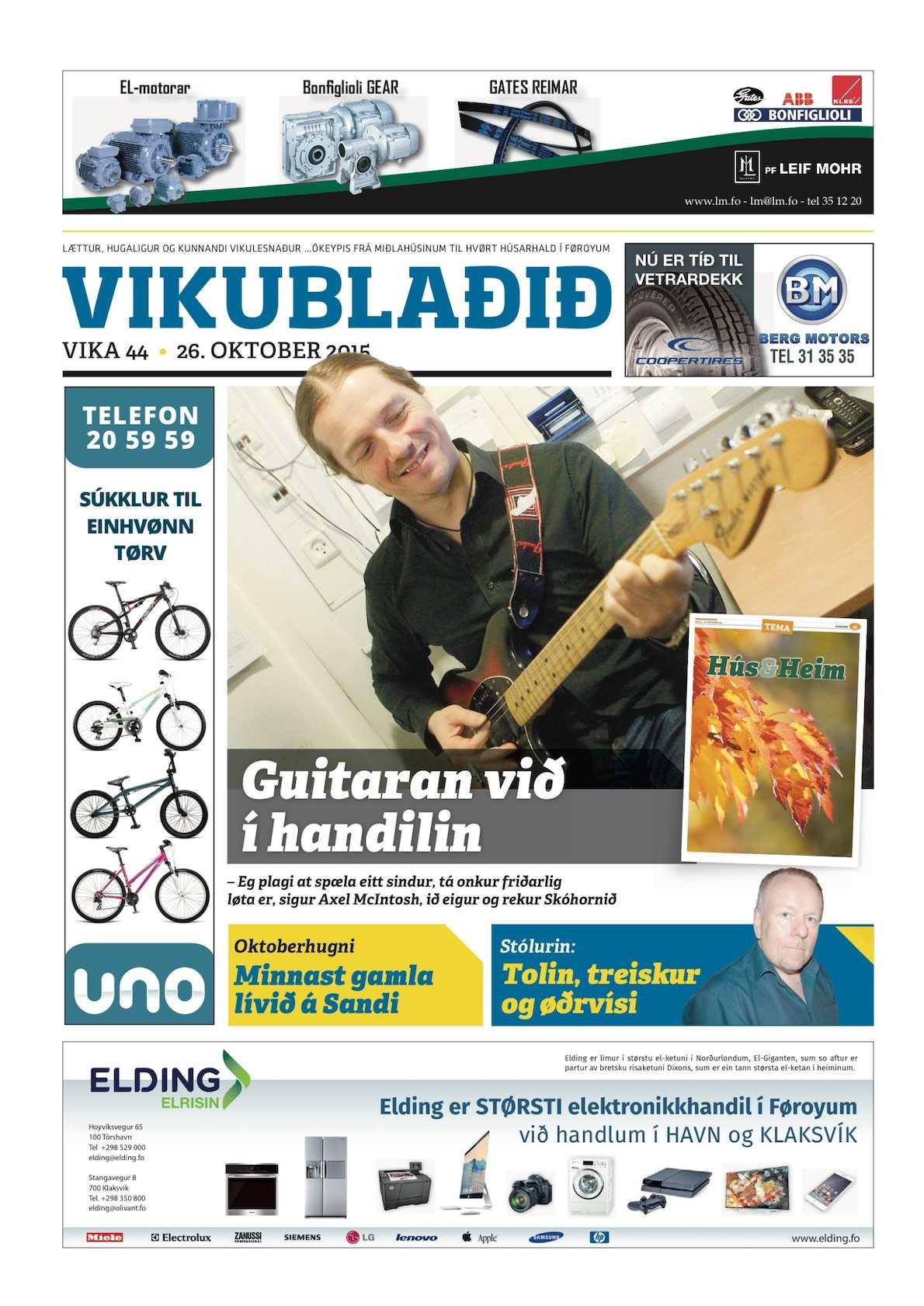 Vikublaðið   26. okt 2015